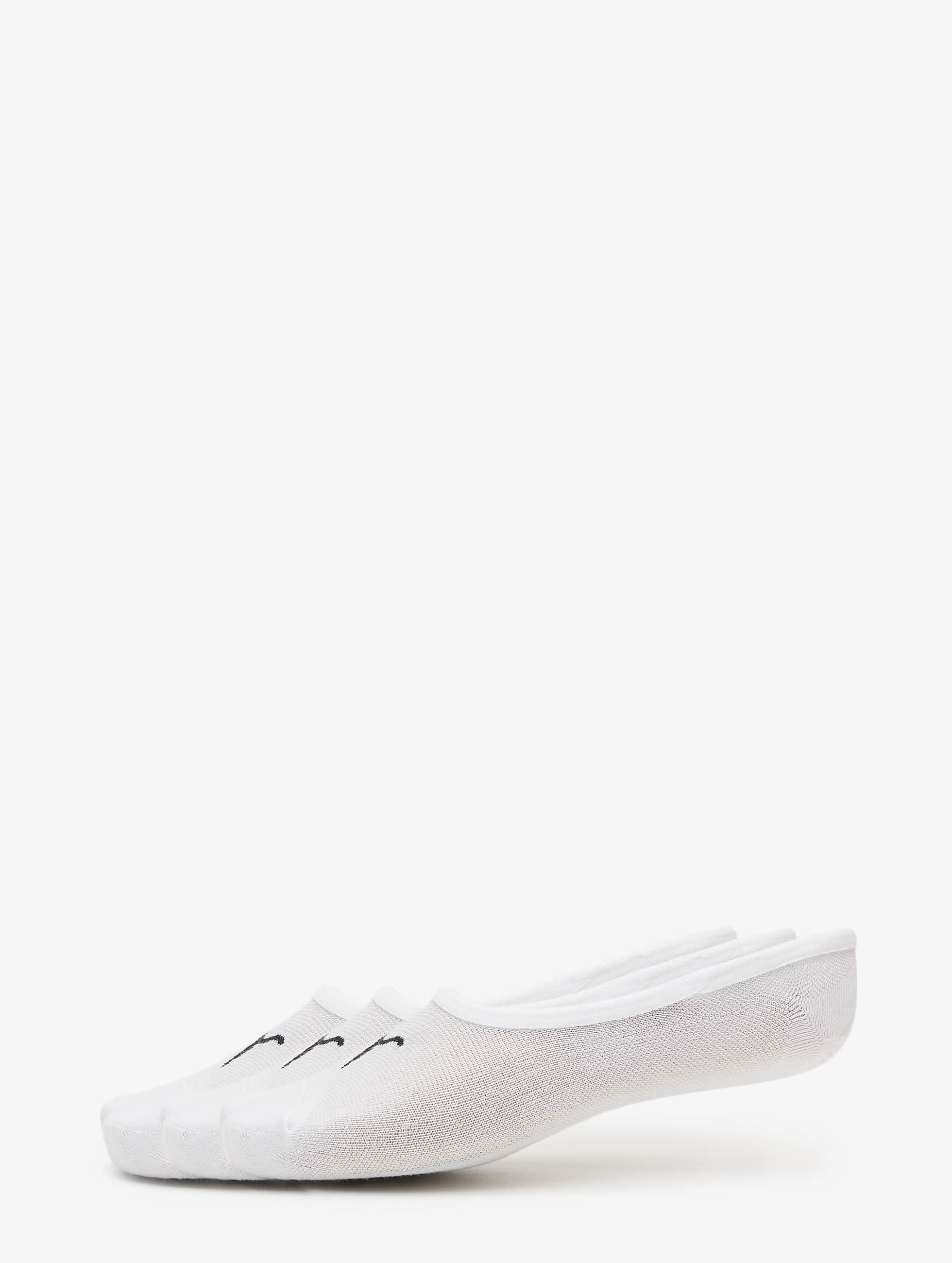 Puma Chaussettes 3-Pack Footies blanc