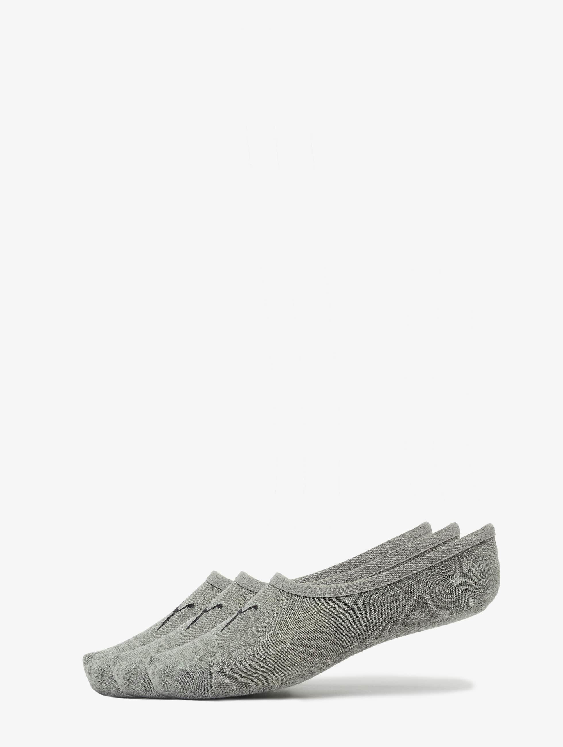 Puma Chaussettes 3-Pack Footies gris