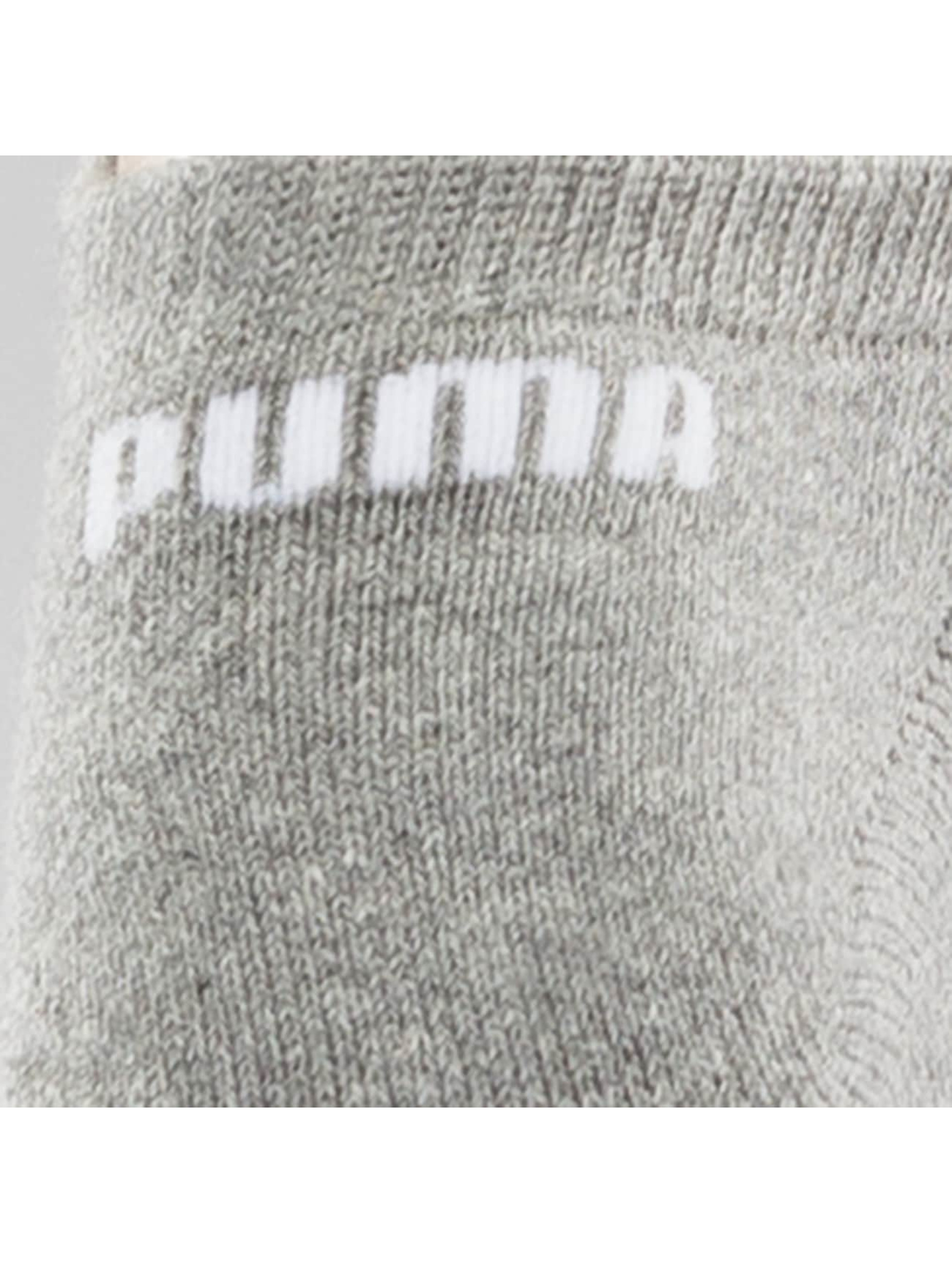 Puma Chaussettes 2-Pack Cushioned Sneakers gris