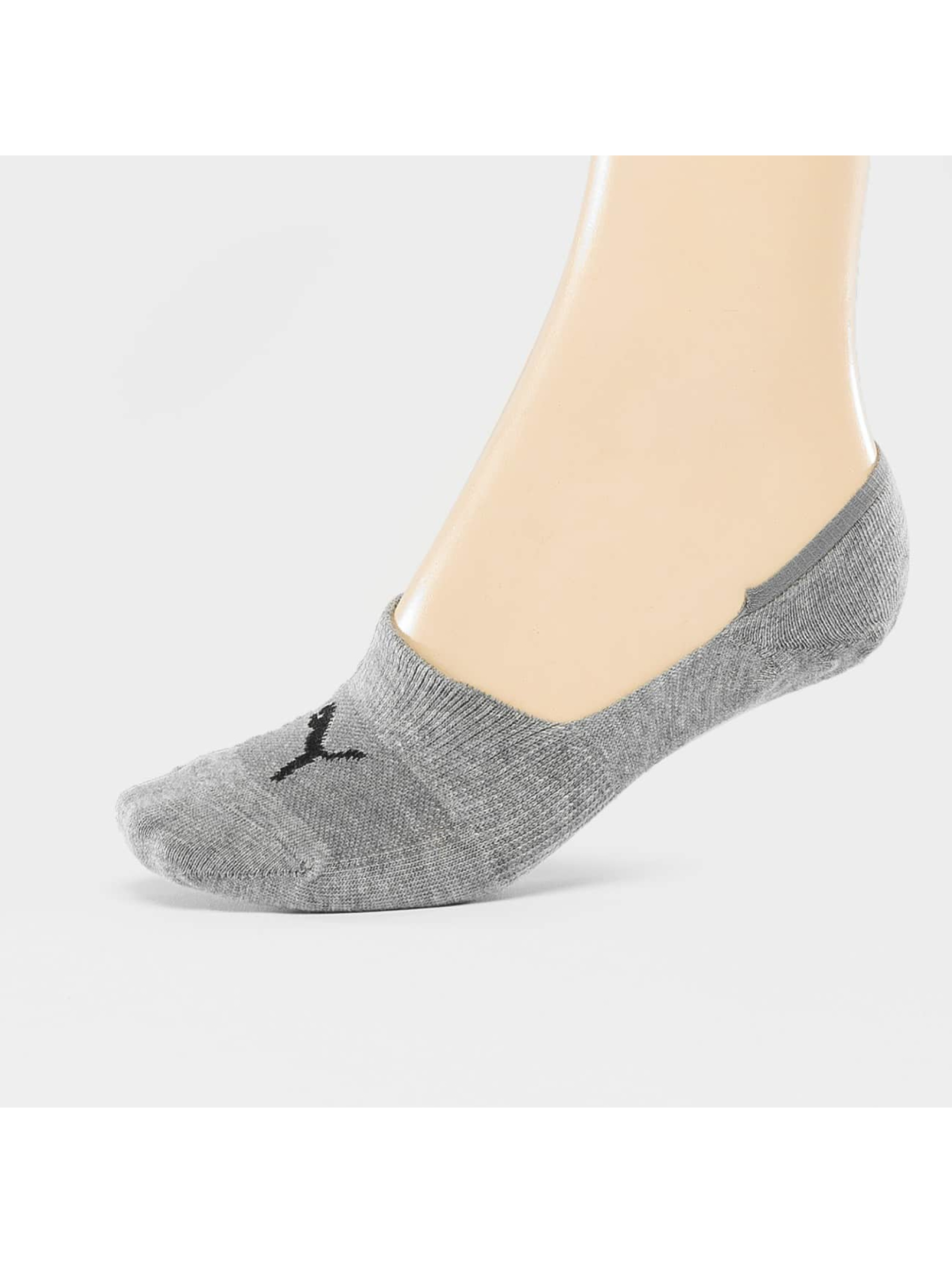 Puma Chaussettes 2-Pack Footies gris