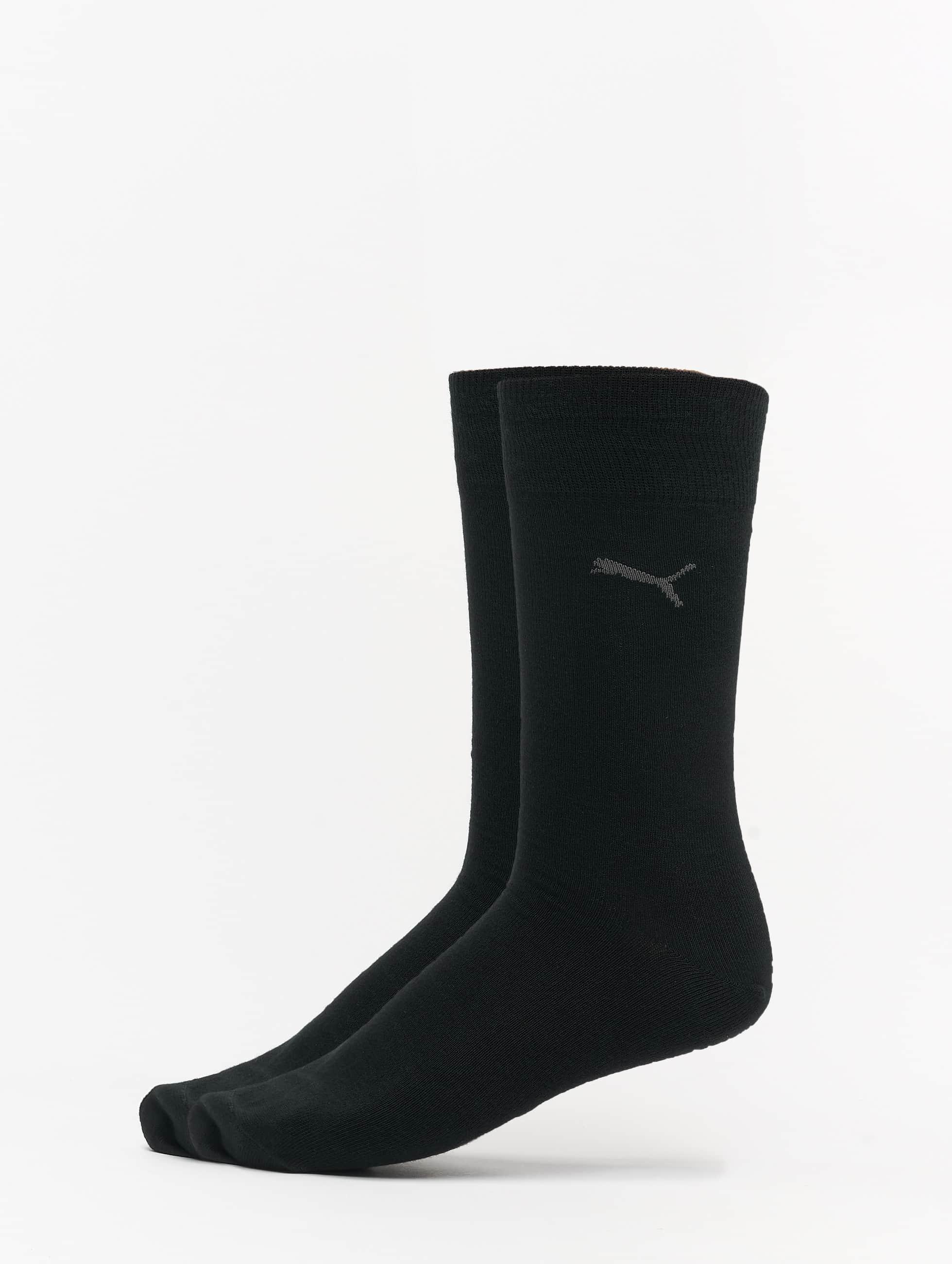 Puma 2 Pack Classic Socks Black
