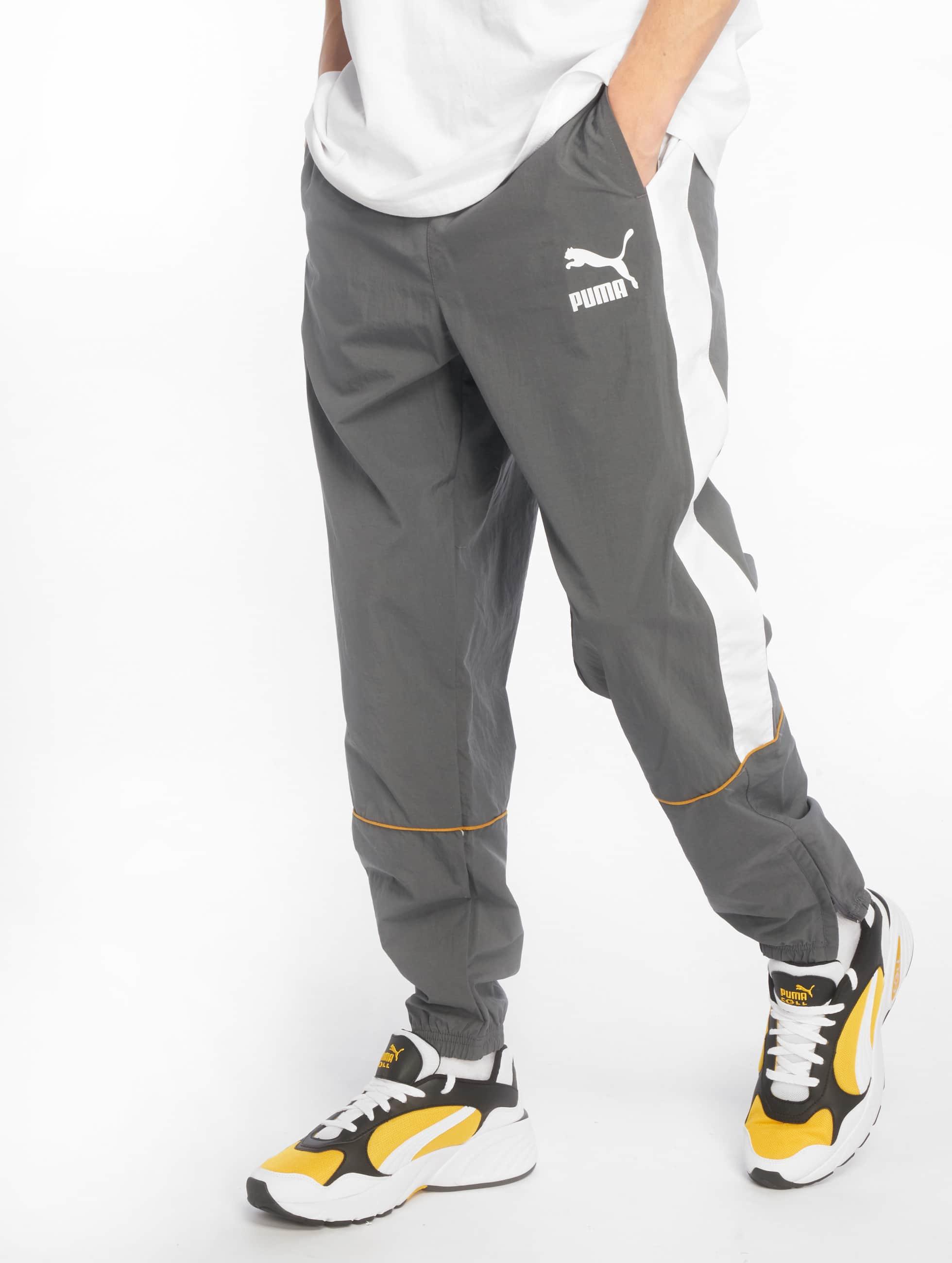 8b260455095 Puma broek / joggingbroek Retro Woven in grijs 546758