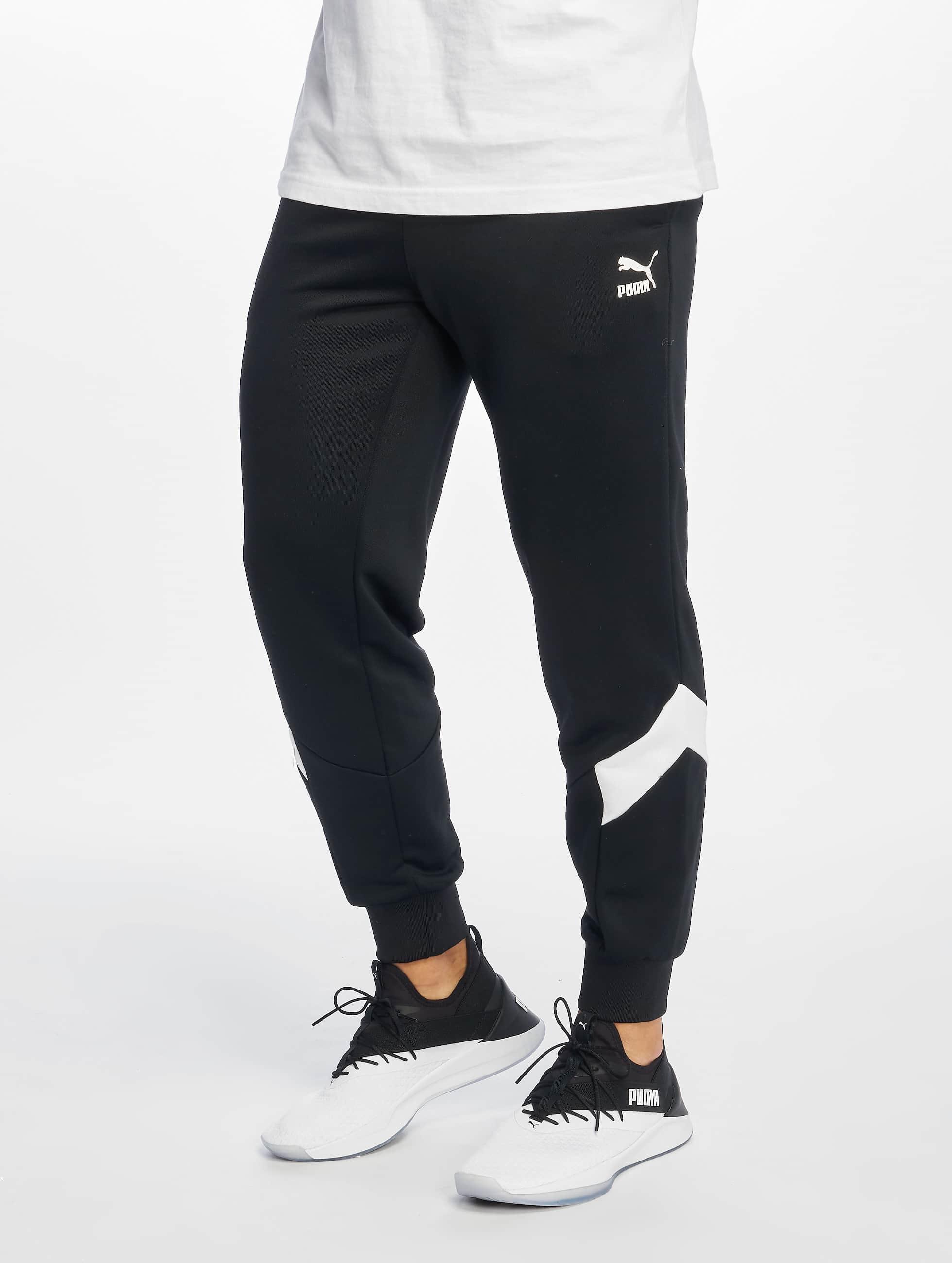 3b6be09361c Puma broek / joggingbroek Iconic Mcs in zwart 607492