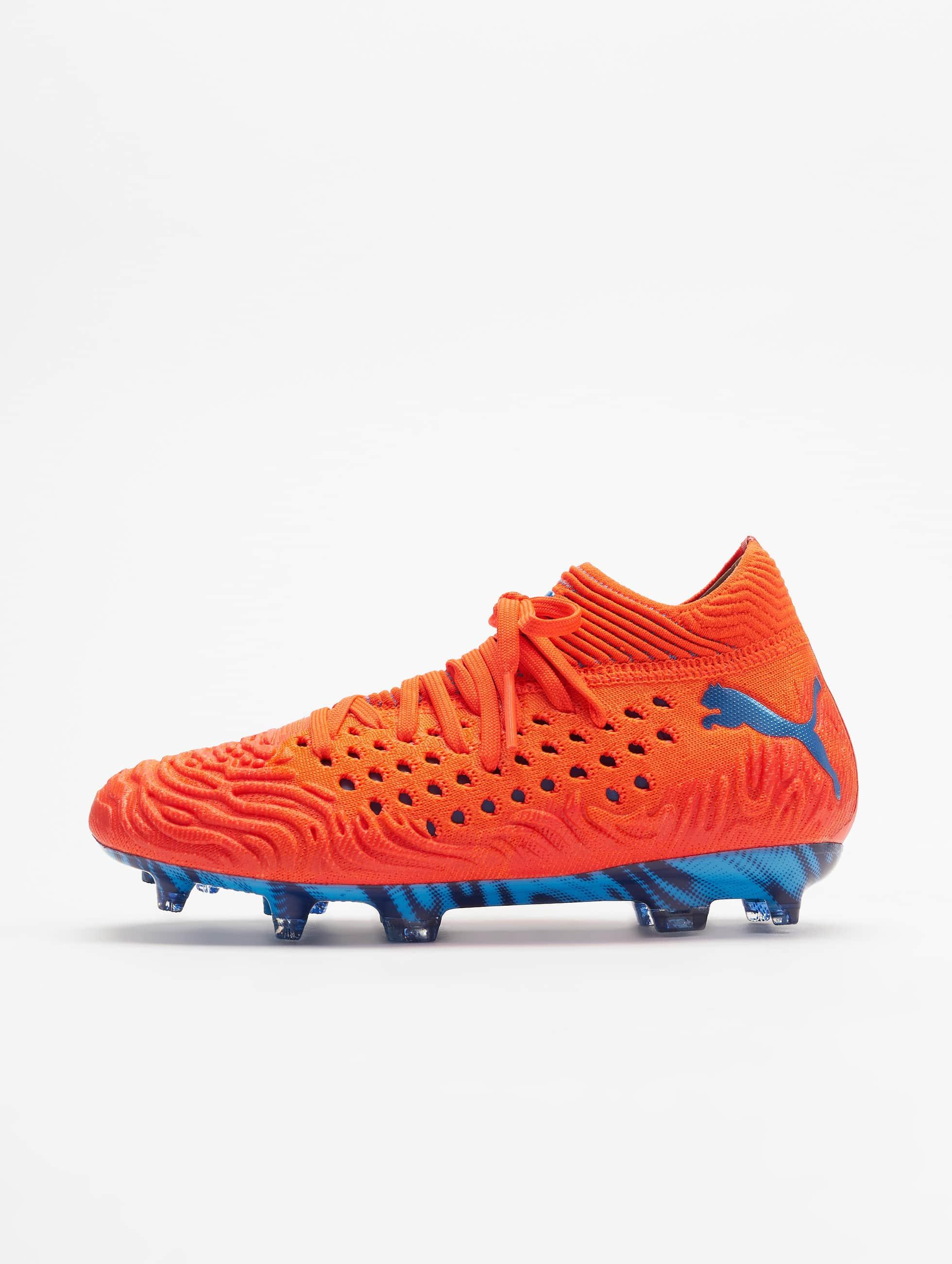puma orange chaussure
