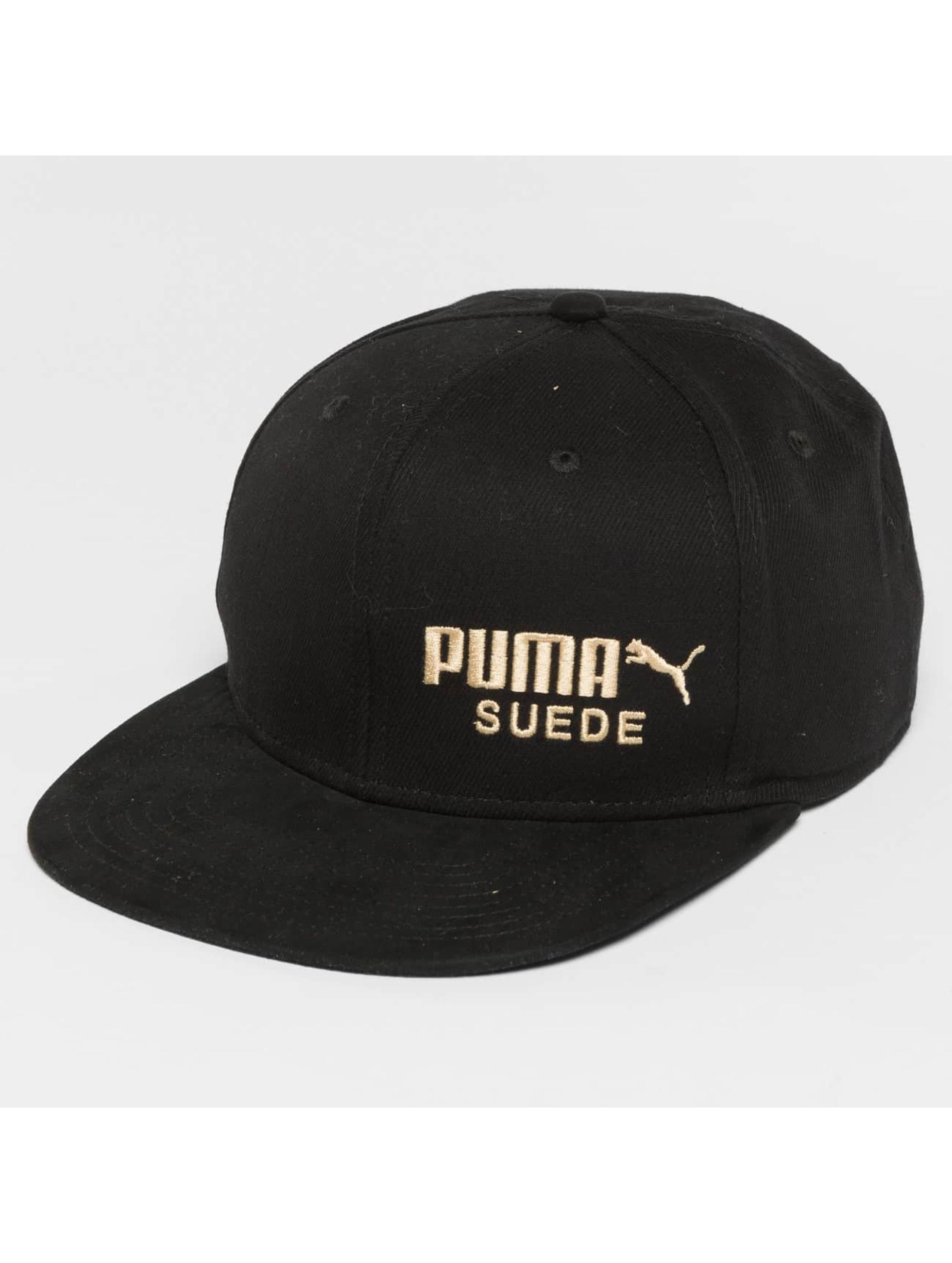 Puma Snapback Caps Archive Suede czarny