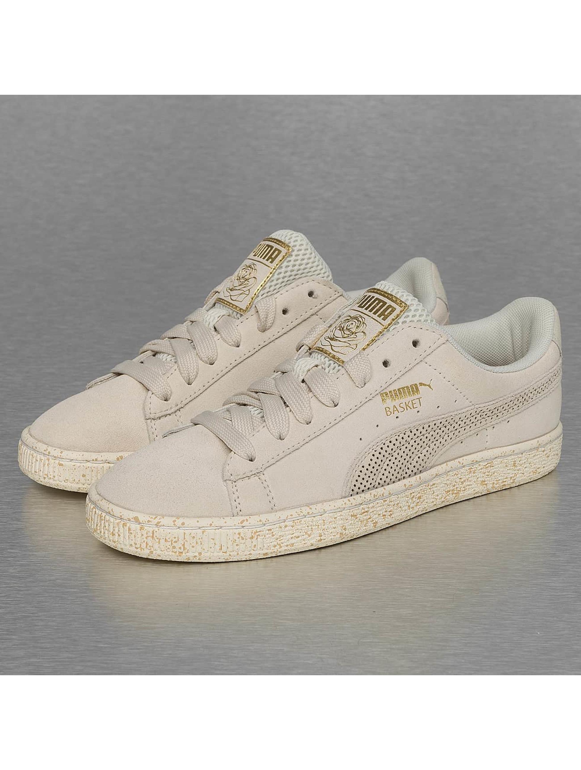 Sneaker Suede x Careaux in beige