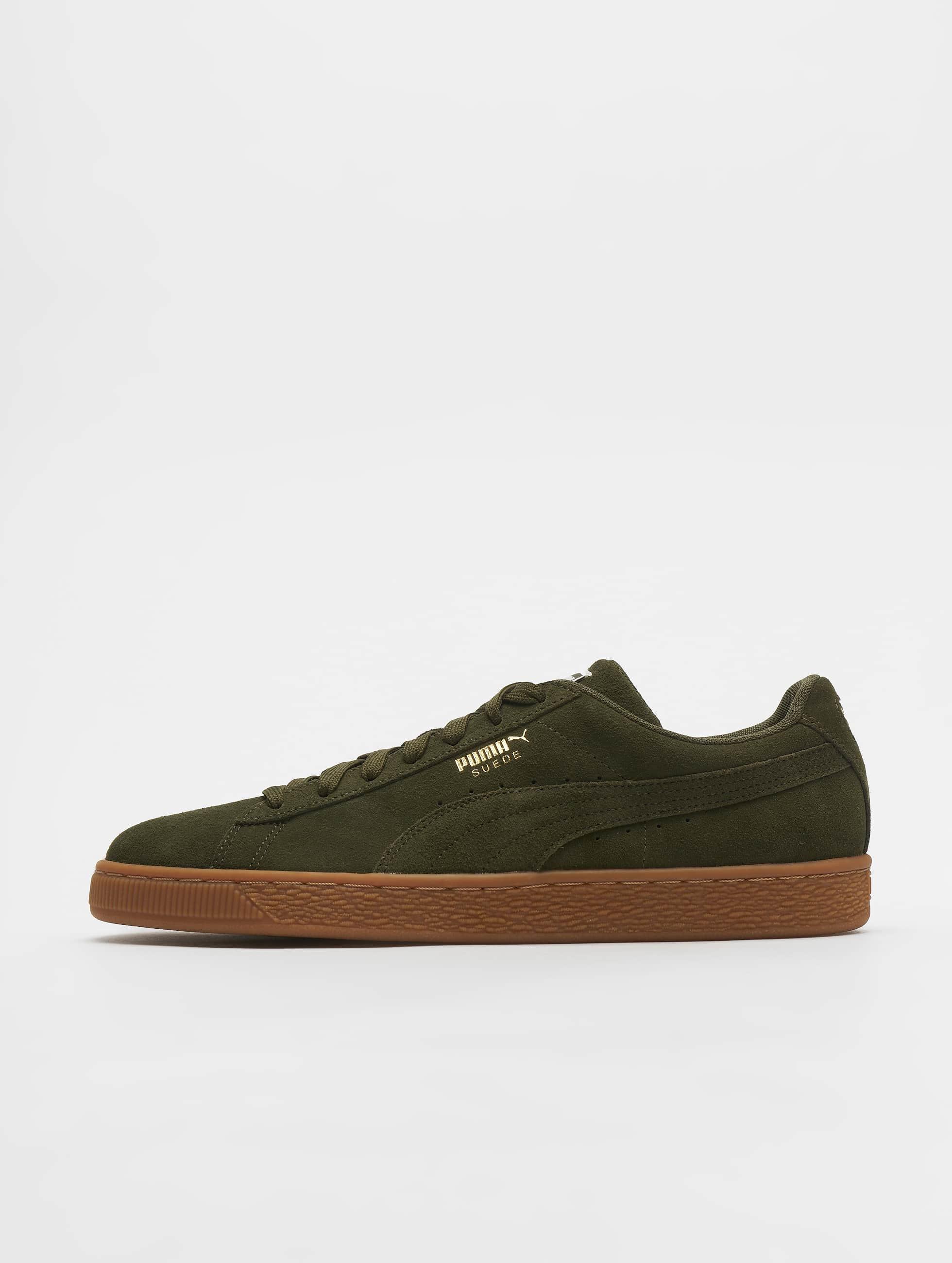 0bcf2c7d40a Puma schoen / sneaker Suede Classic in olijfgroen 542605