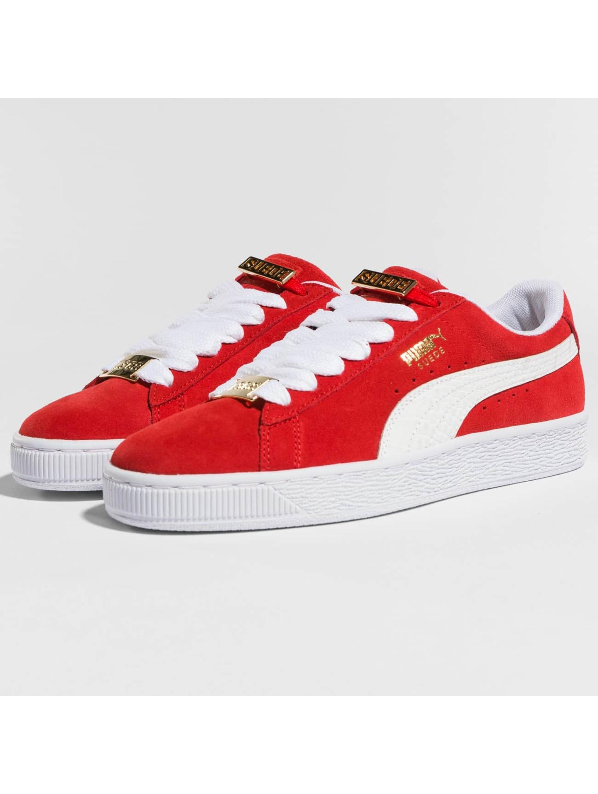 Puma Sneaker BBoy Fabulous Suede Classic rot