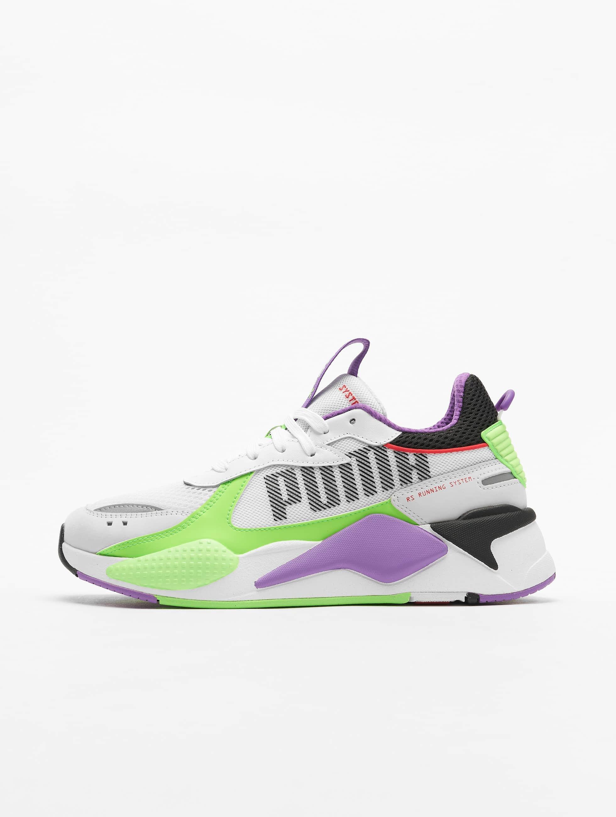 Puma RS X Bold Sneakers Puma WhiteGreen GeckoRoyal Lilac