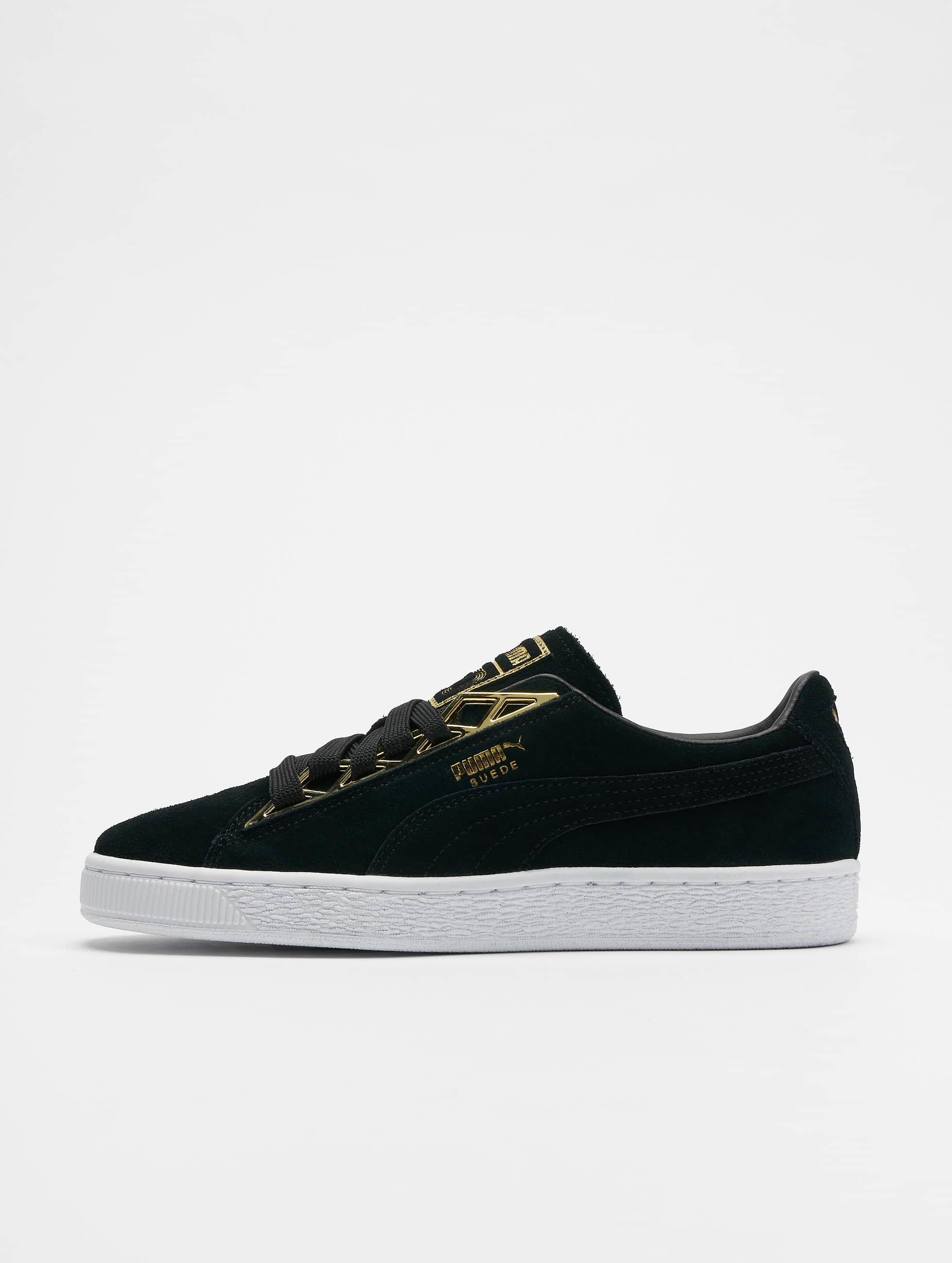 Puma Suede Jewel Metalic Sneakers Puma BlackPuma Black