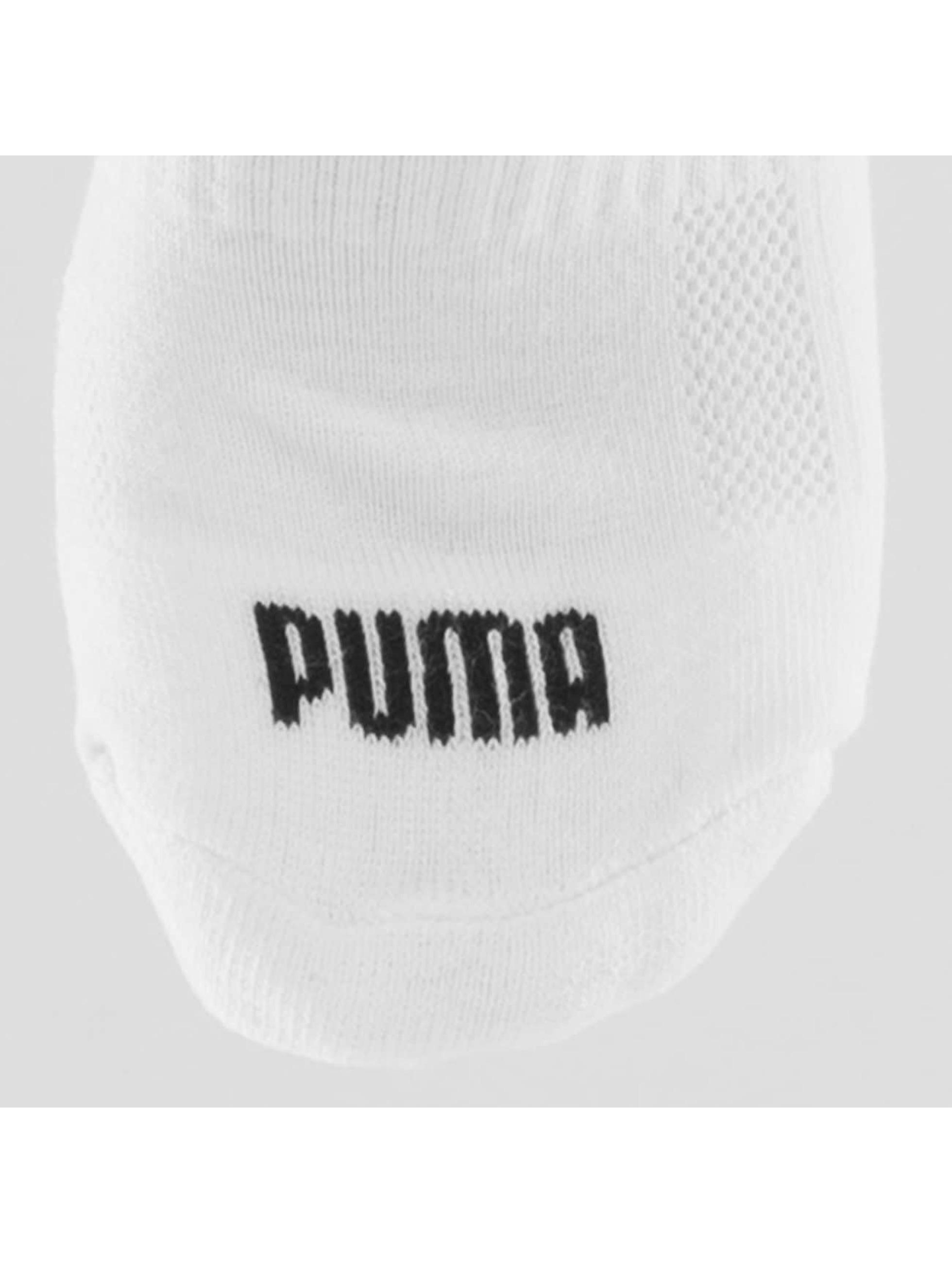Puma Sokken 2-Pack Cushioned Quarters wit