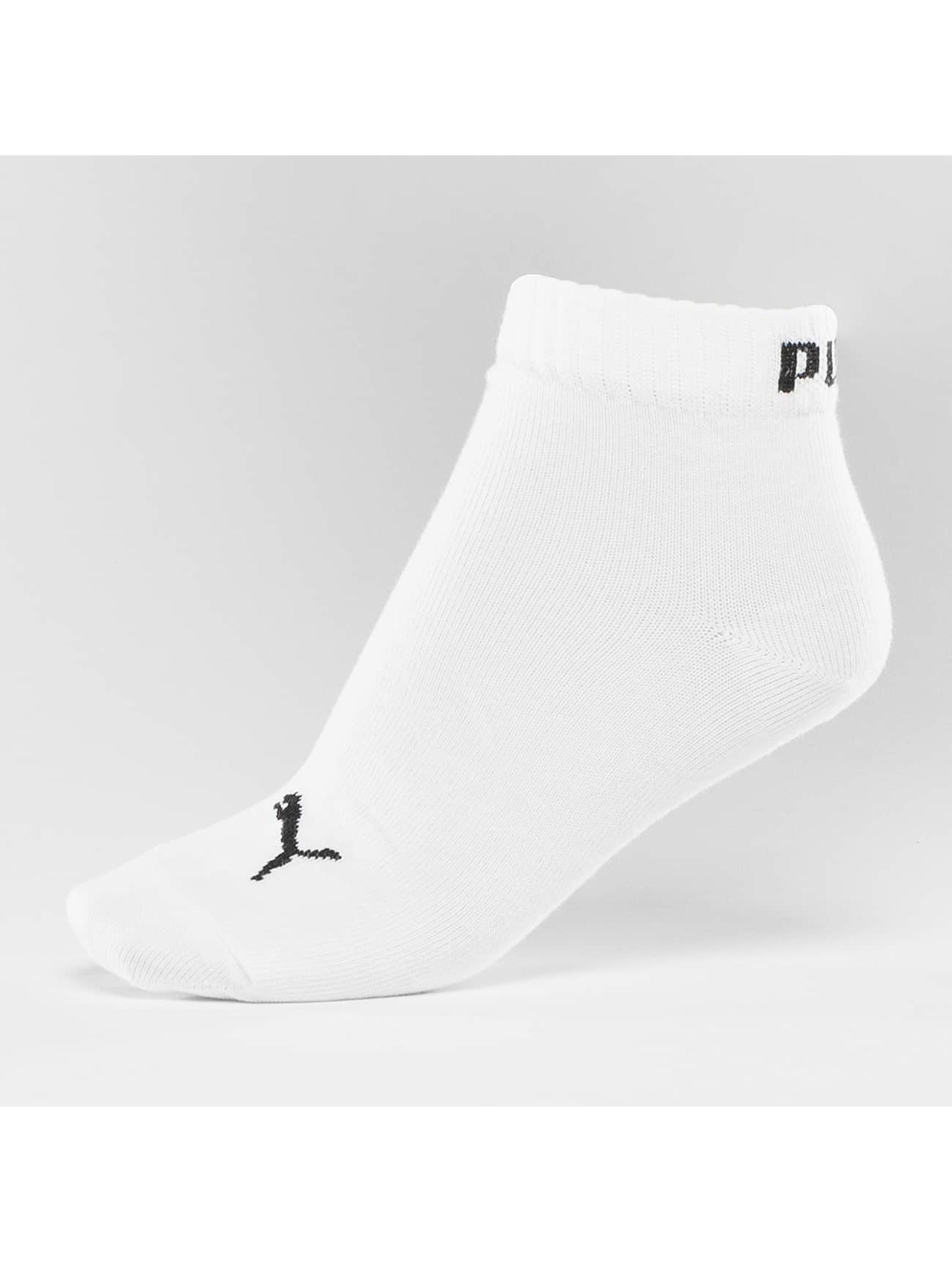 Puma Sokken 3-Pack Quarters wit