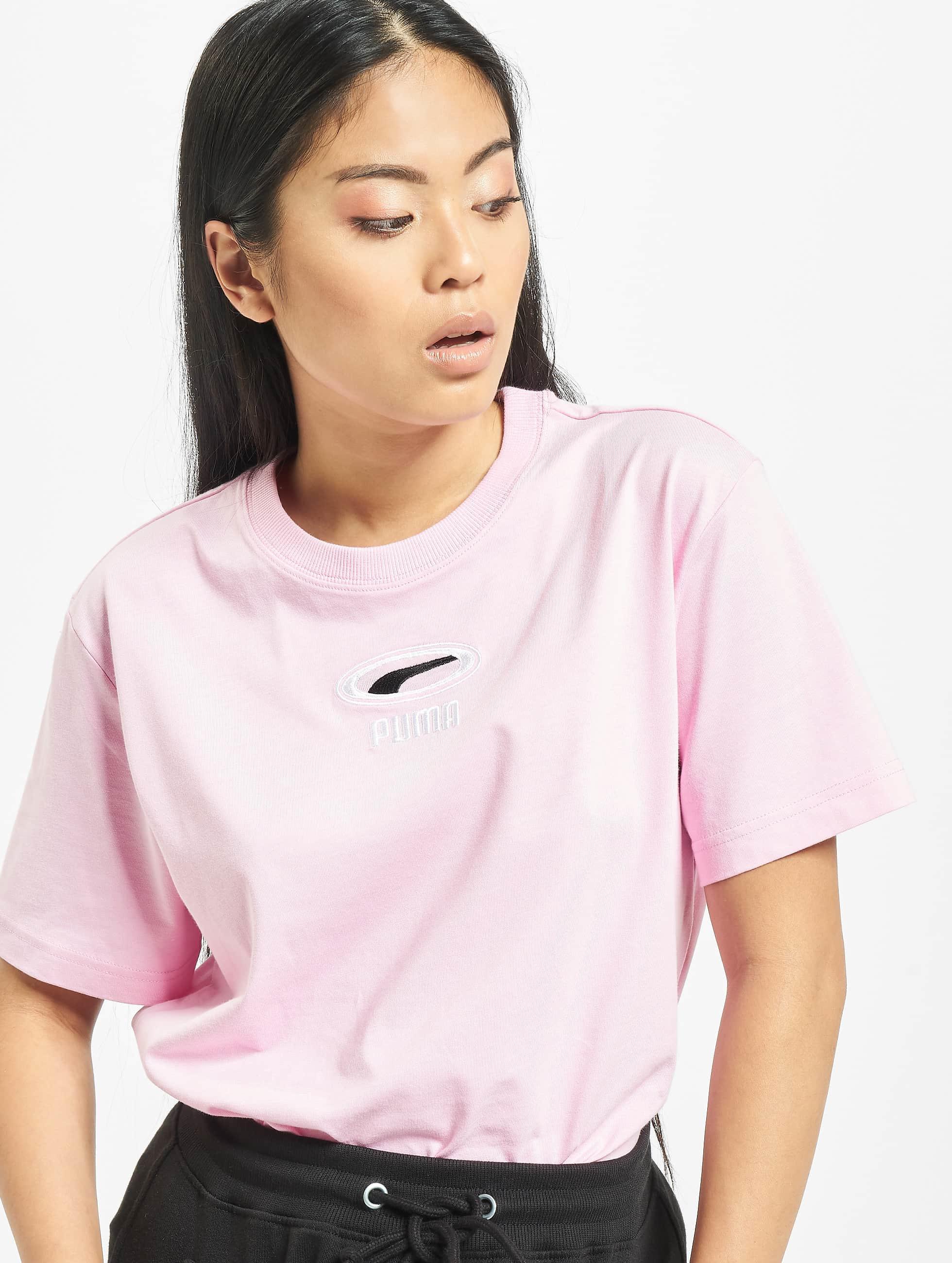 puma XTG Colorblock T shirt WOMENS Hibiscus bij