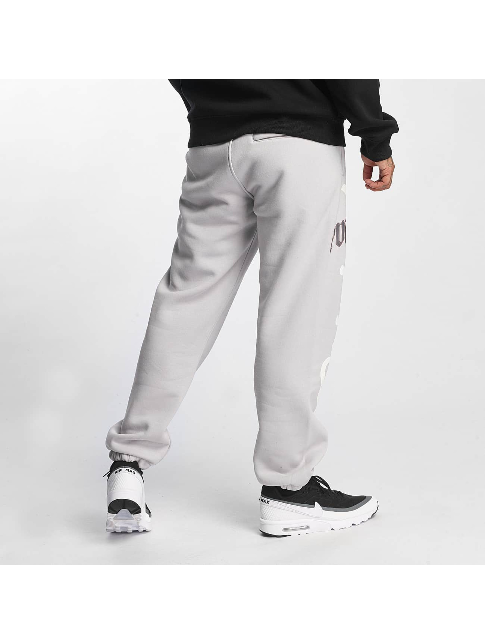 Pure Hate Спортивные брюки Fracture серый