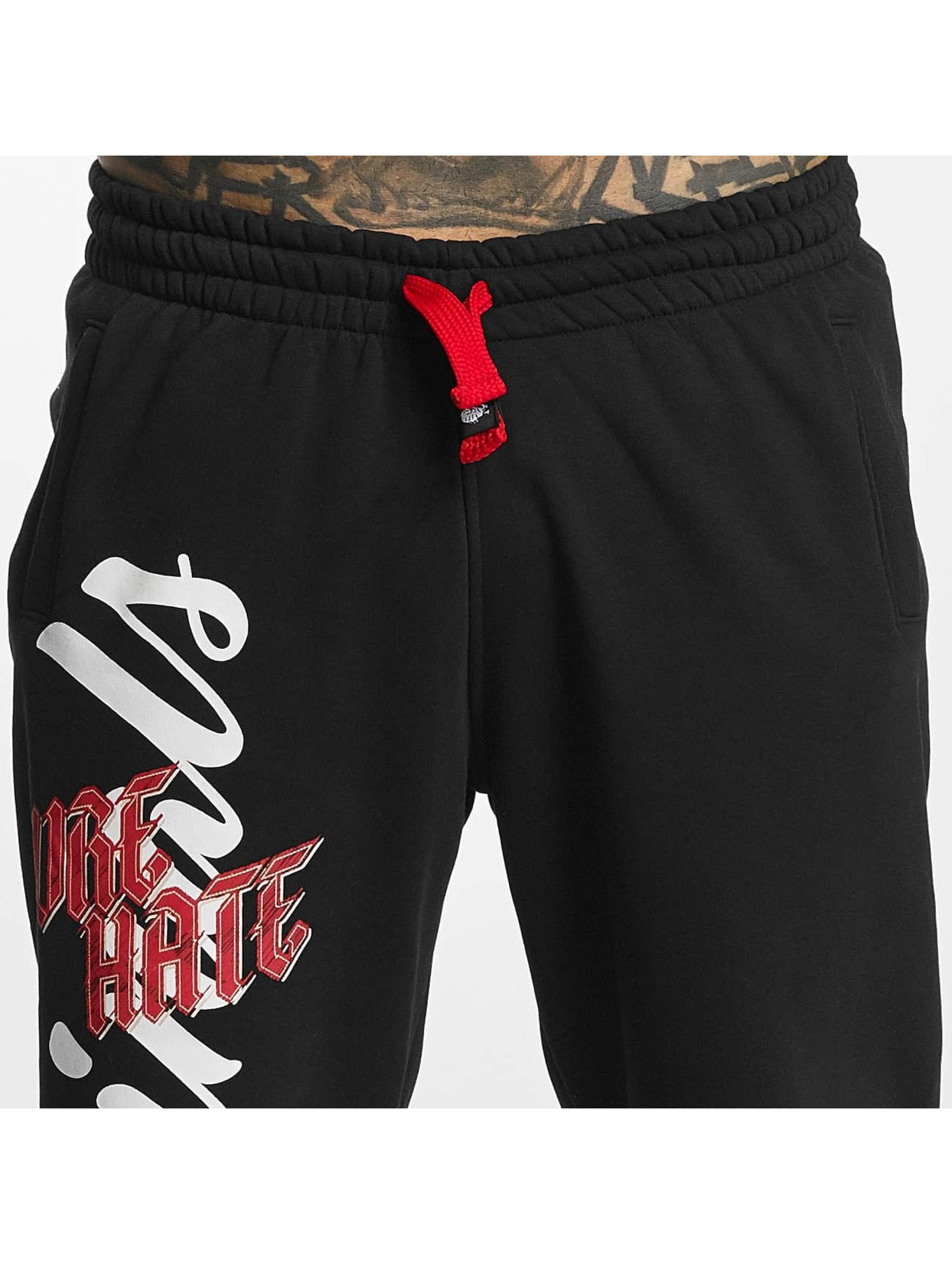 Pure Hate Спортивные брюки Fracture черный