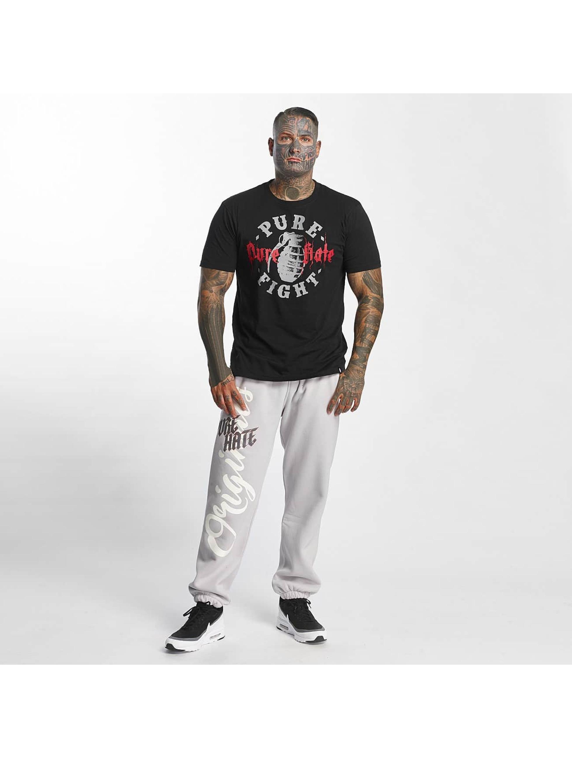 Pure Hate Camiseta Pure Fight negro