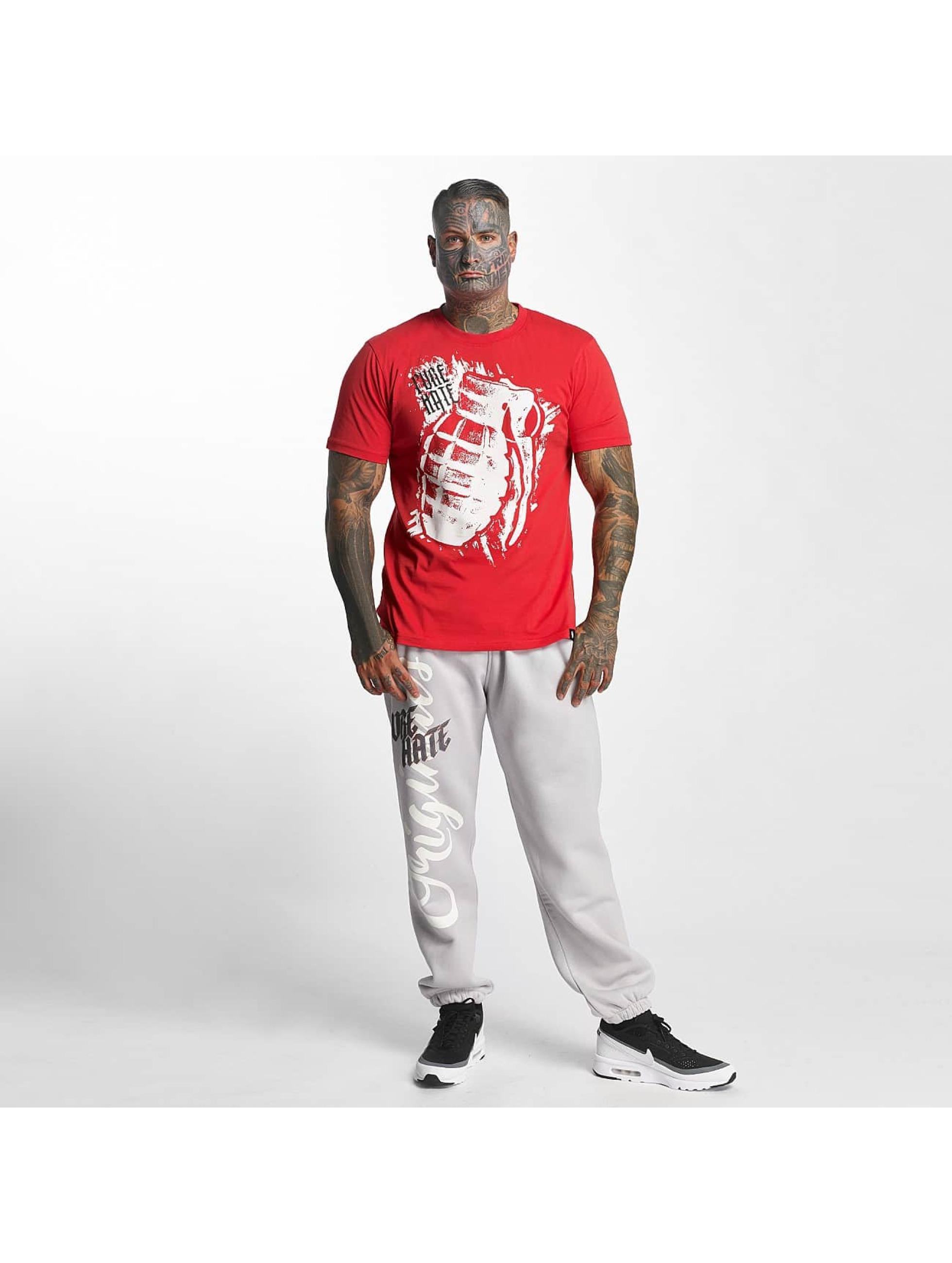 Pure Hate Camiseta Hand Grenade rojo