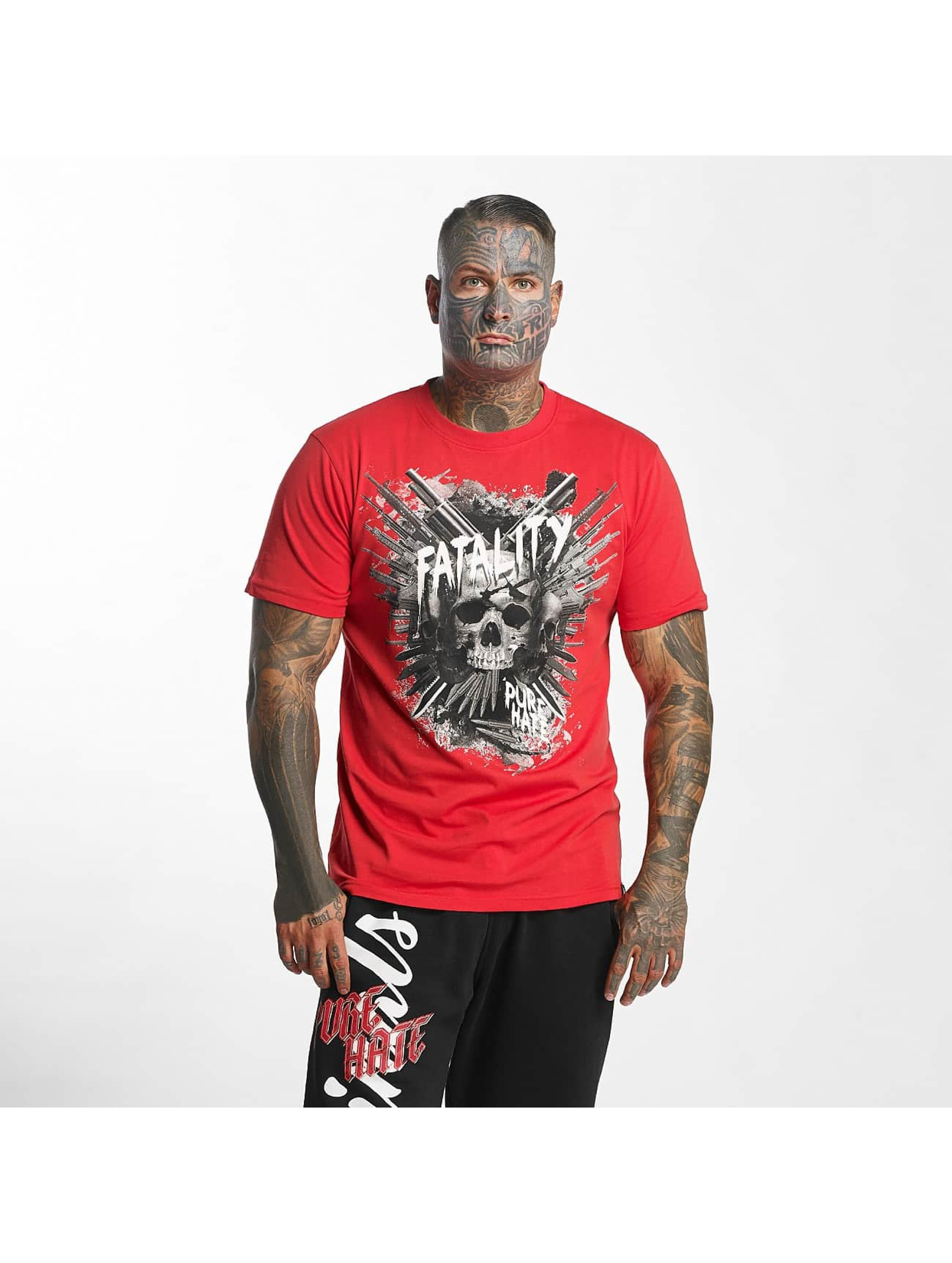 Pure Hate Camiseta Fatality rojo