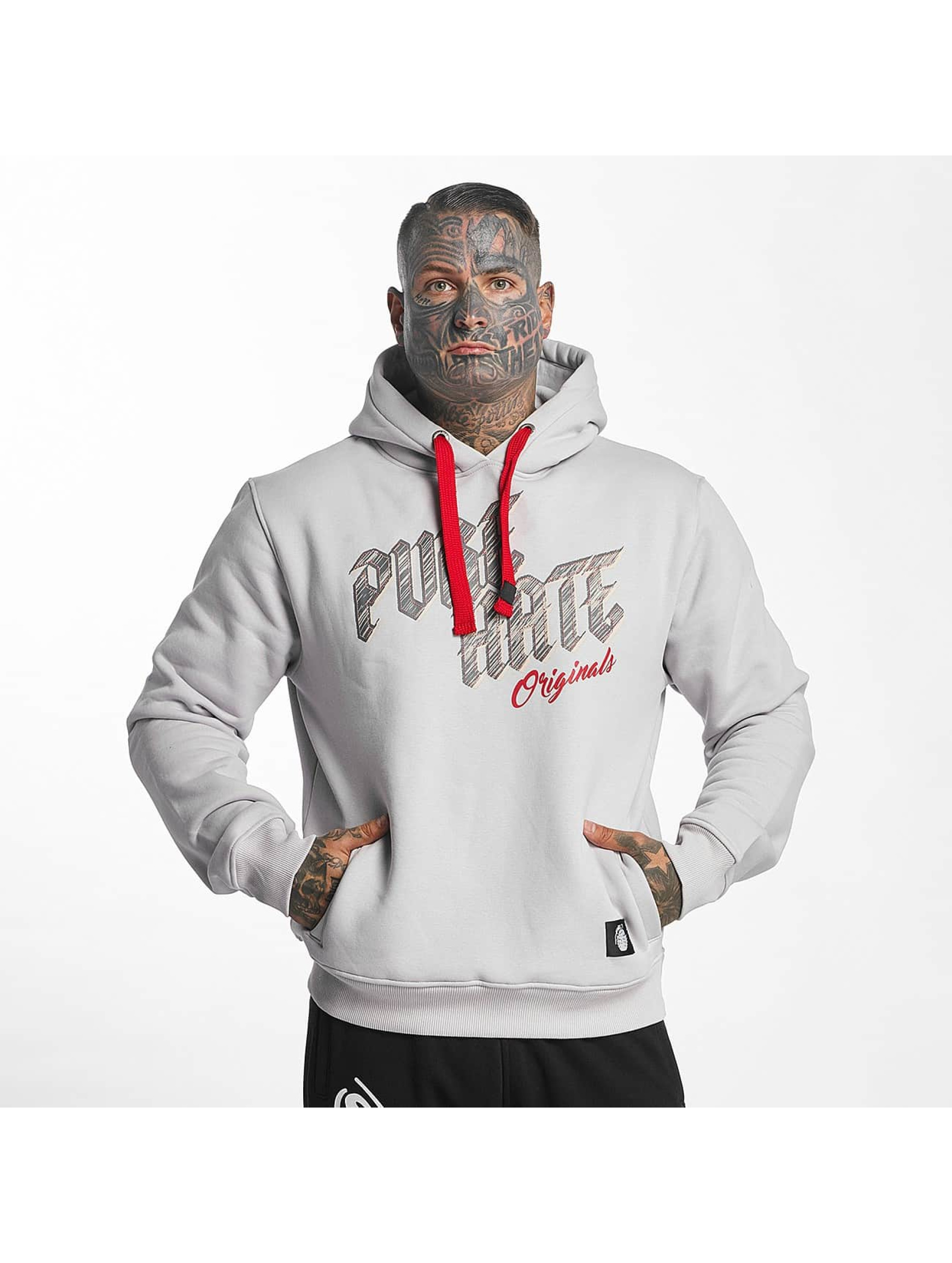 Pure Hate Hoody Pure Hate grijs
