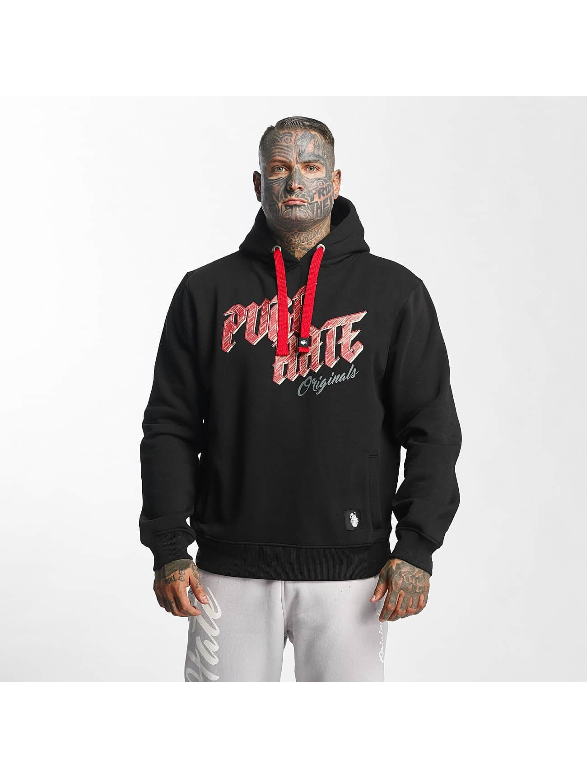 Pure Hate Hoody Pure Hate schwarz