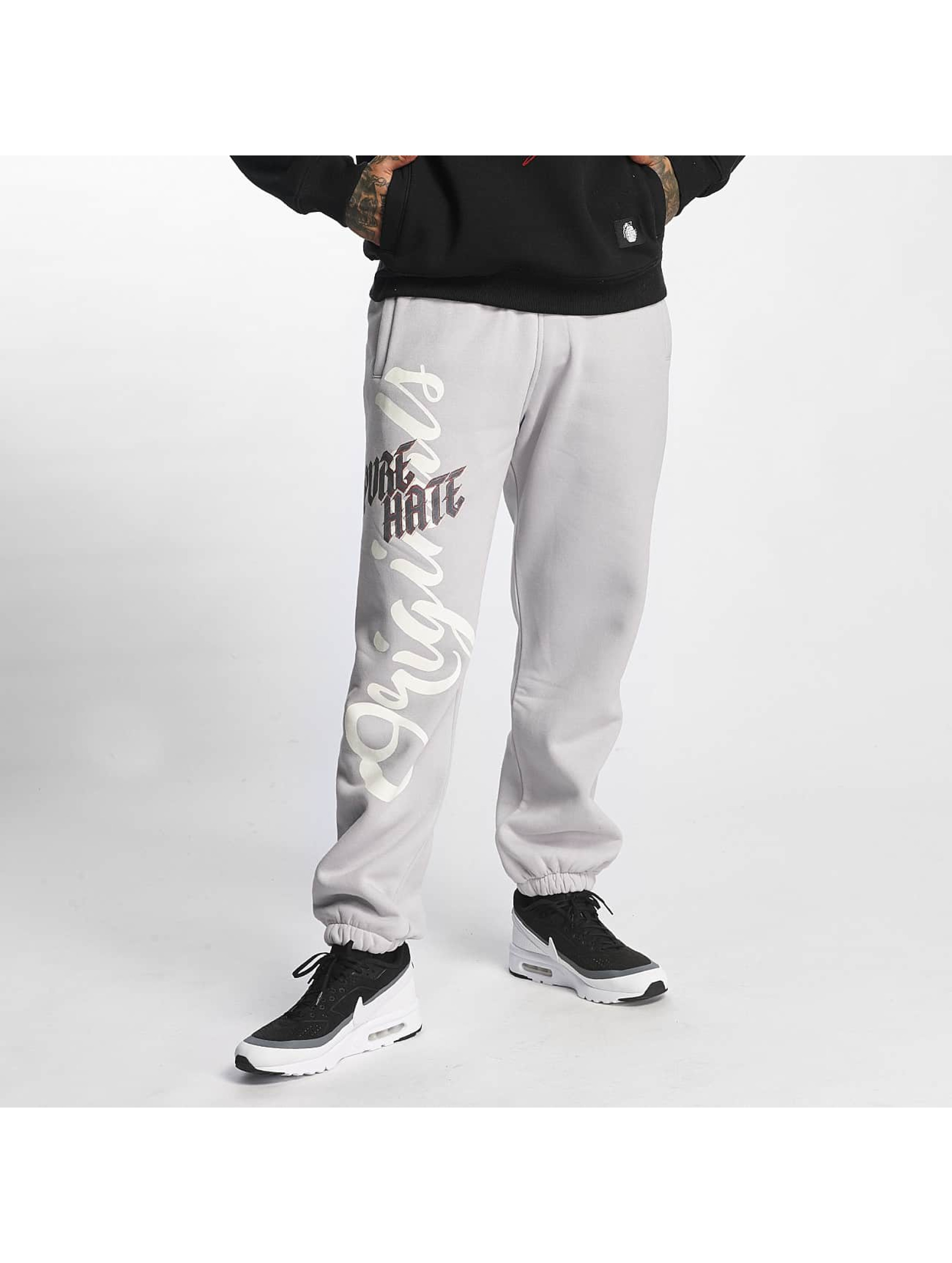 Pure Hate Sweat Pant Fracture gray