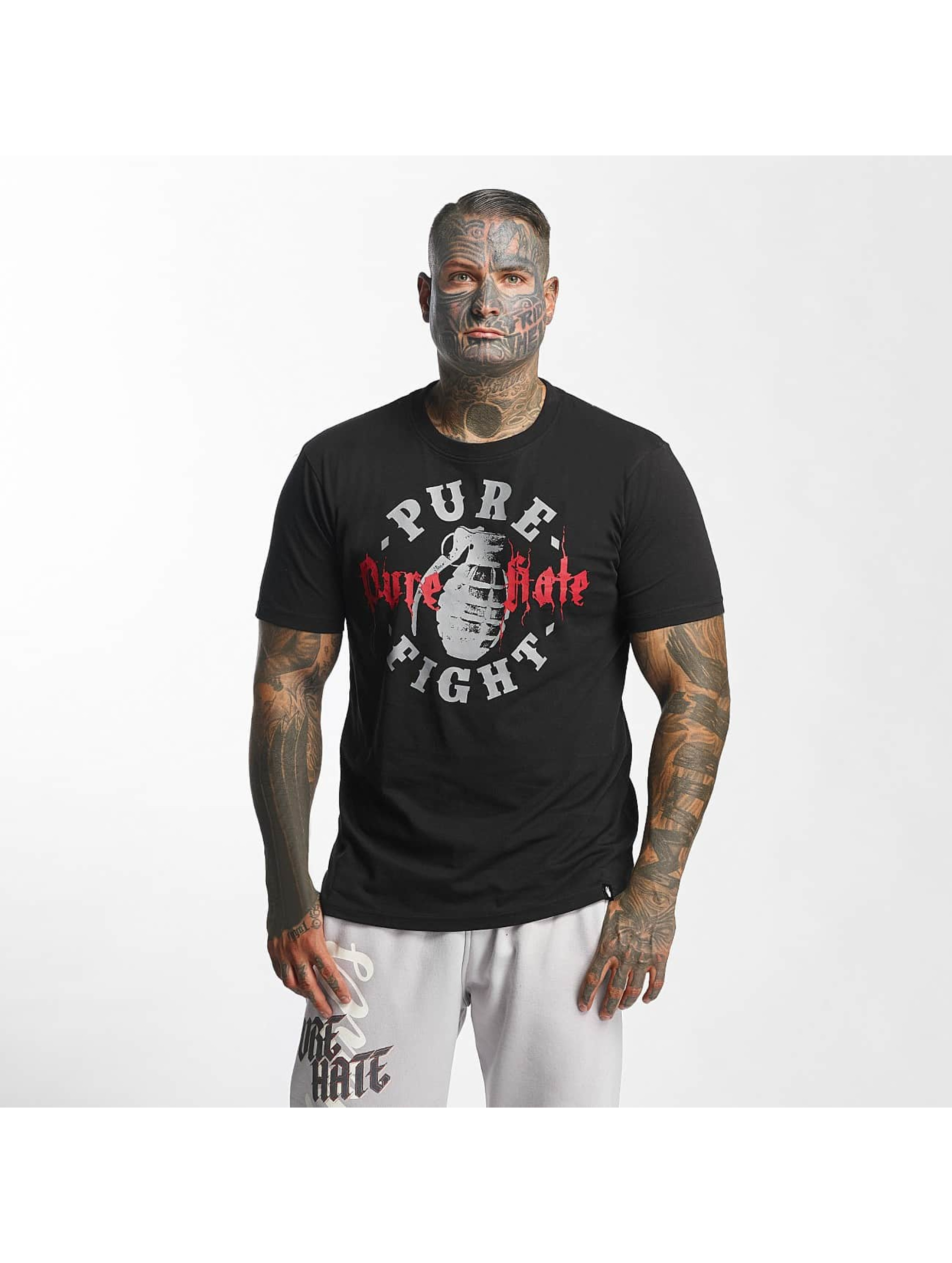 Pure Hate T-Shirt Pure Fight black