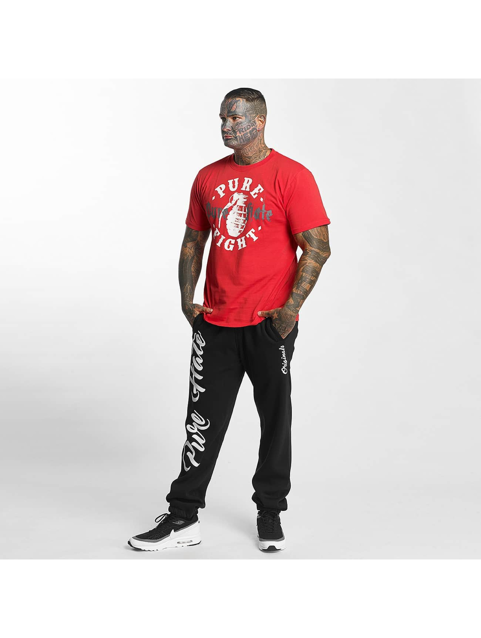 Pure Hate T-shirt Pure Fight rosso