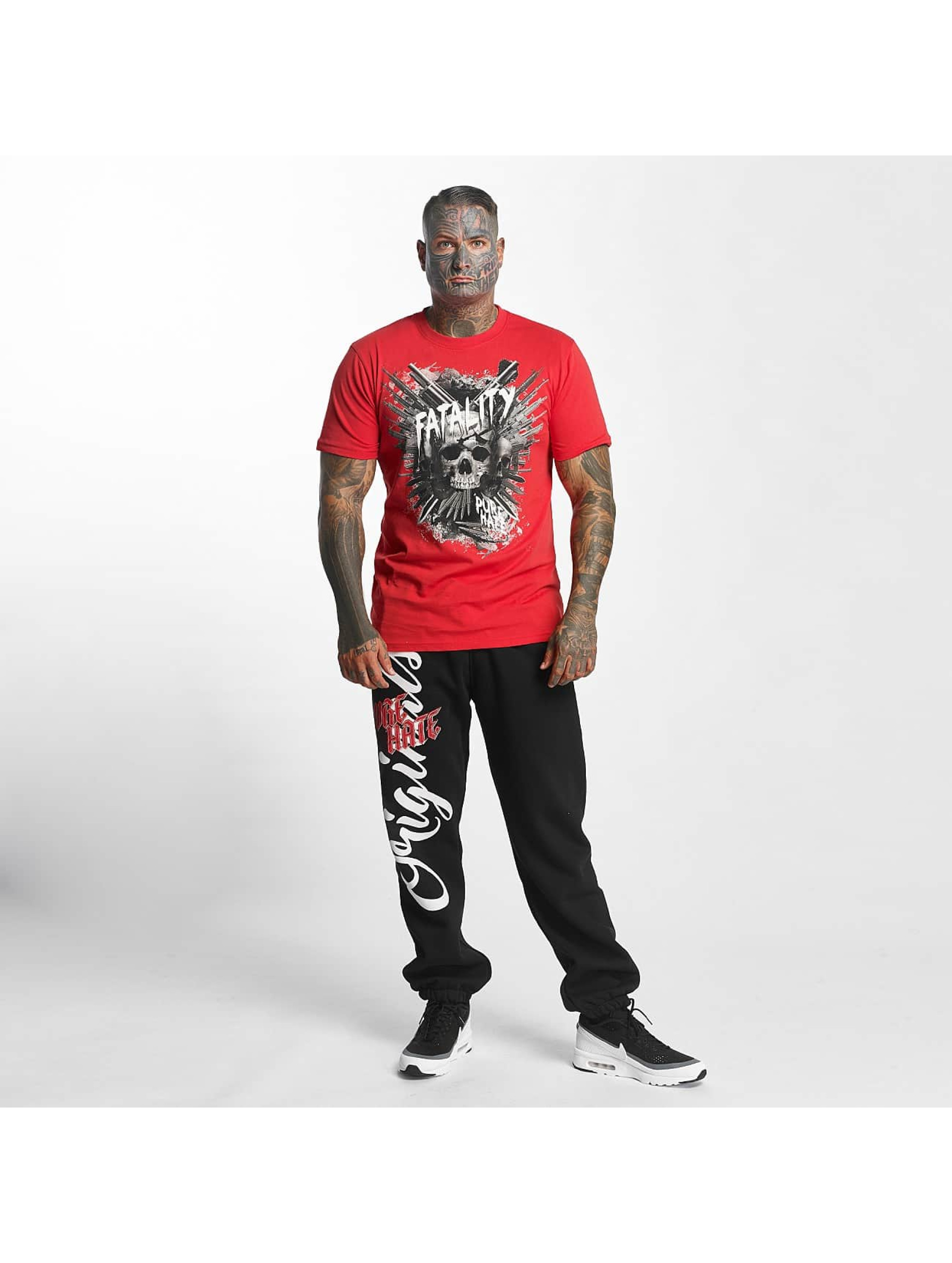 Pure Hate T-shirt Fatality rosso