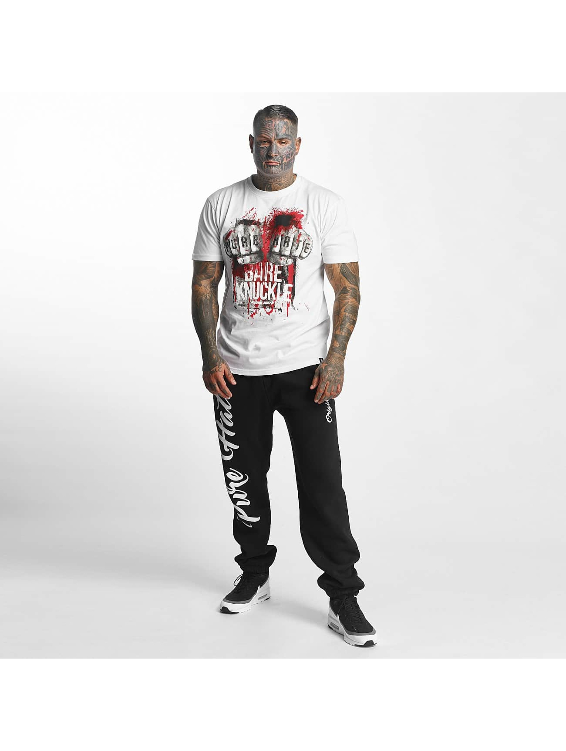 Pure Hate t-shirt Bare Knuckle wit