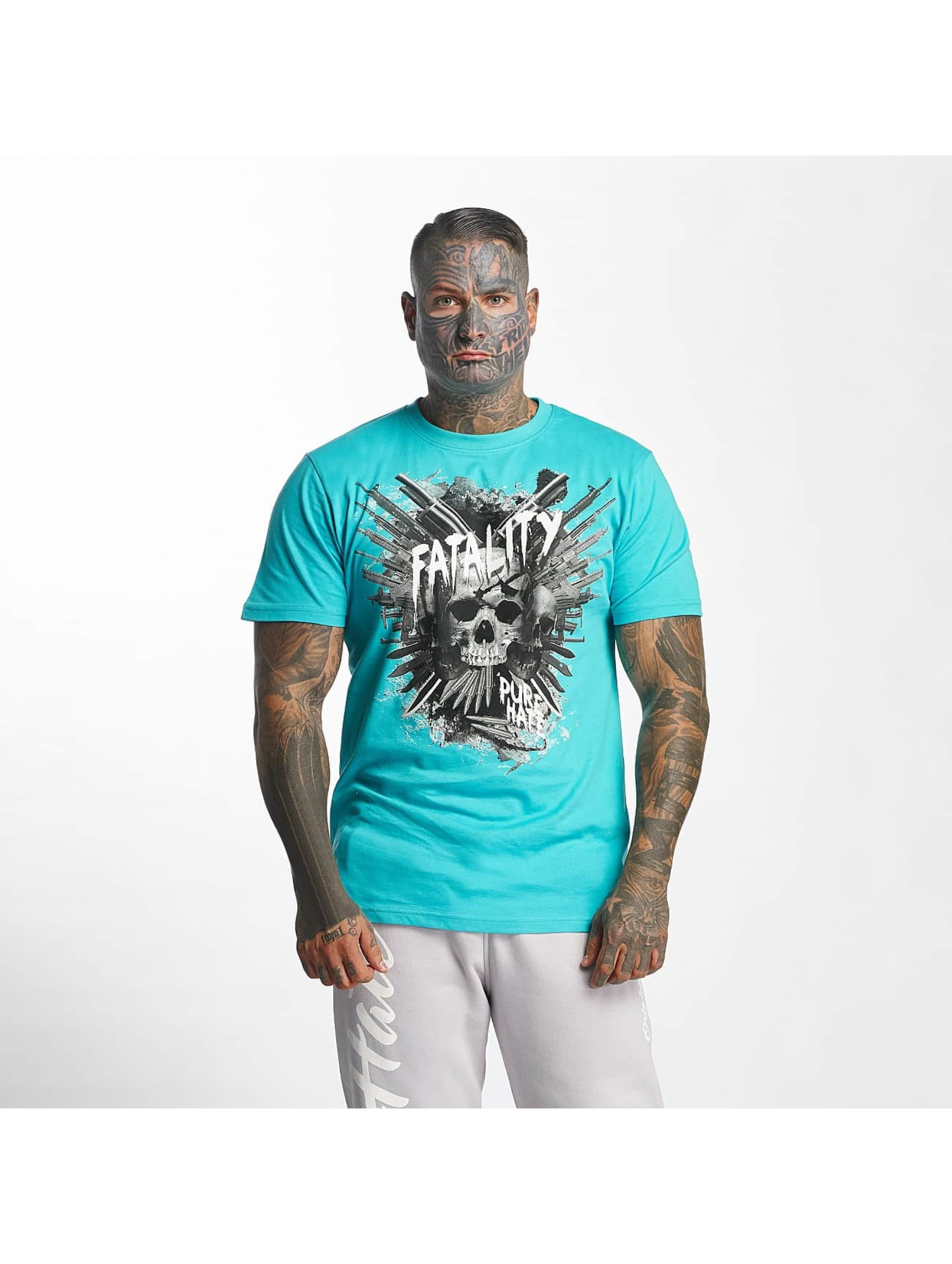 Pure Hate T-Shirty Fatality turkusowy