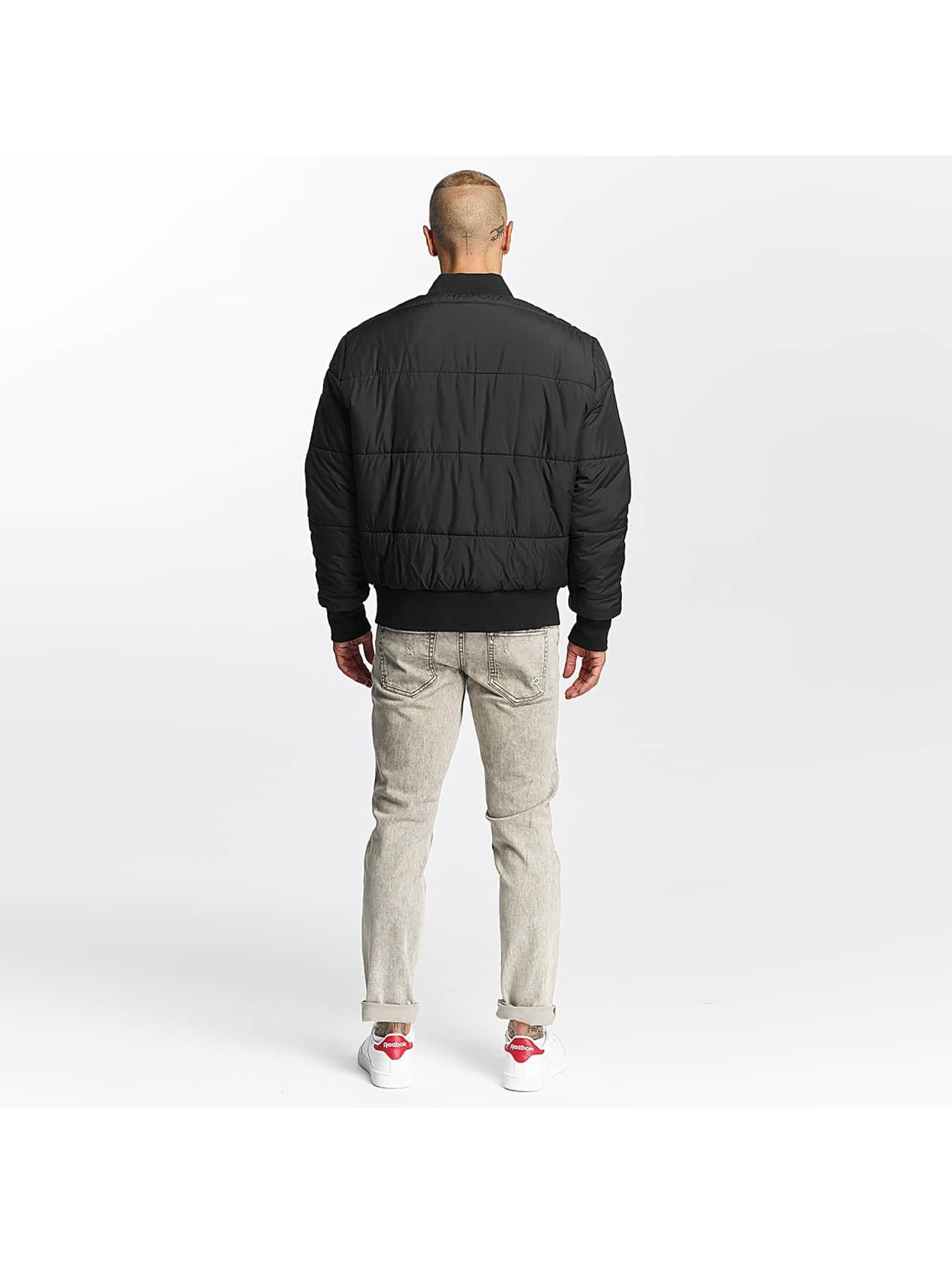 Pusher Apparel Giubbotto Bomber Quilted Bomber nero