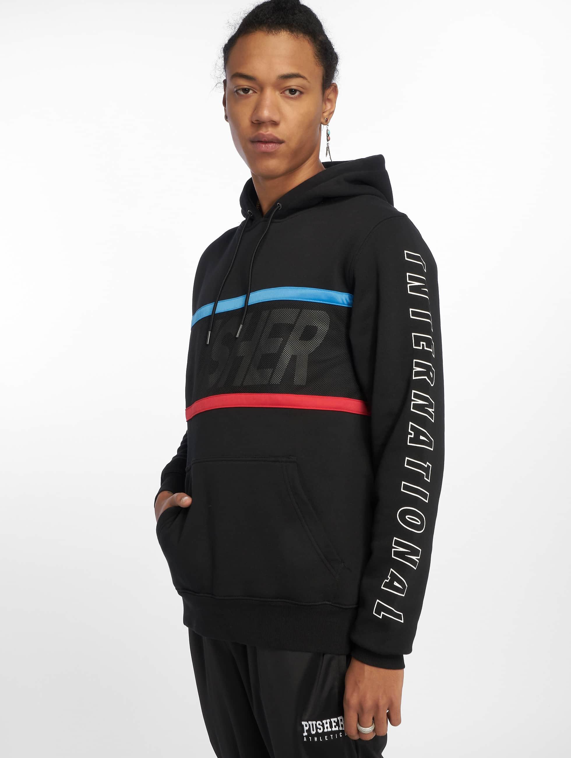Pusher Apparel • Hoodie Pullover • Größe: M • Farbe: schwarz #Gebraucht !!
