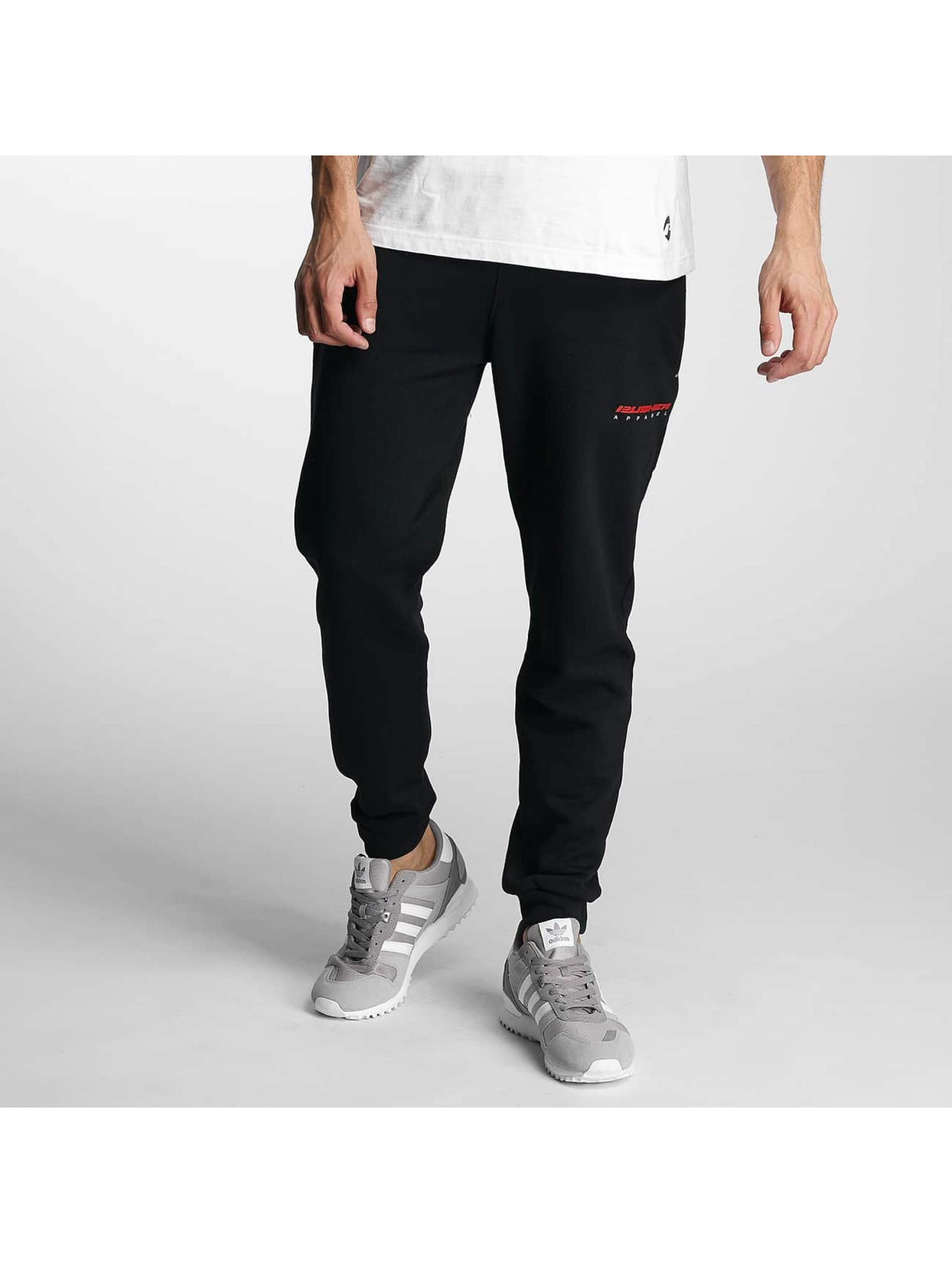 Pusher Apparel Jogging kalhoty 215 Jacking čern