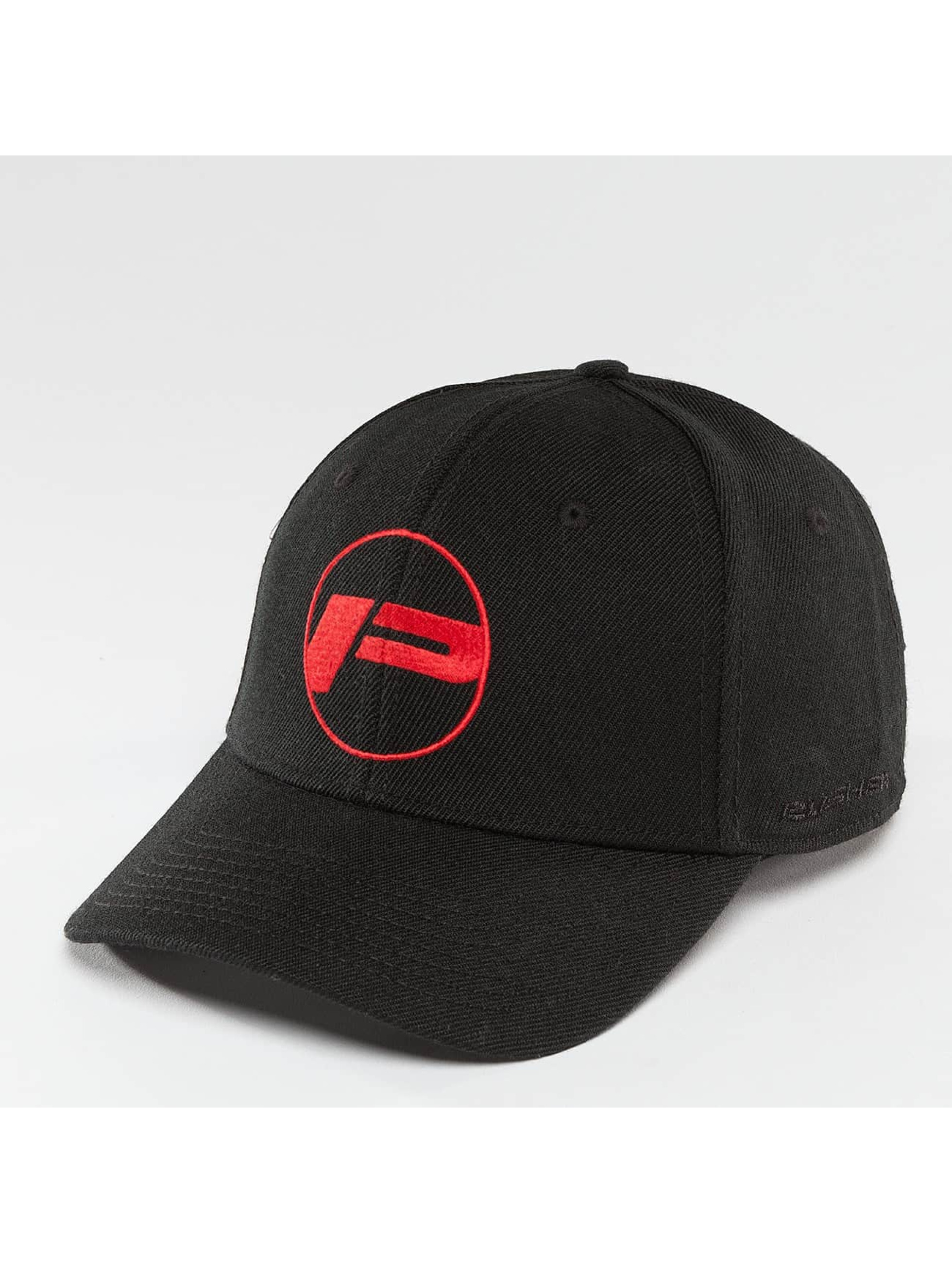 Pusher Apparel Snapback Caps Polo musta