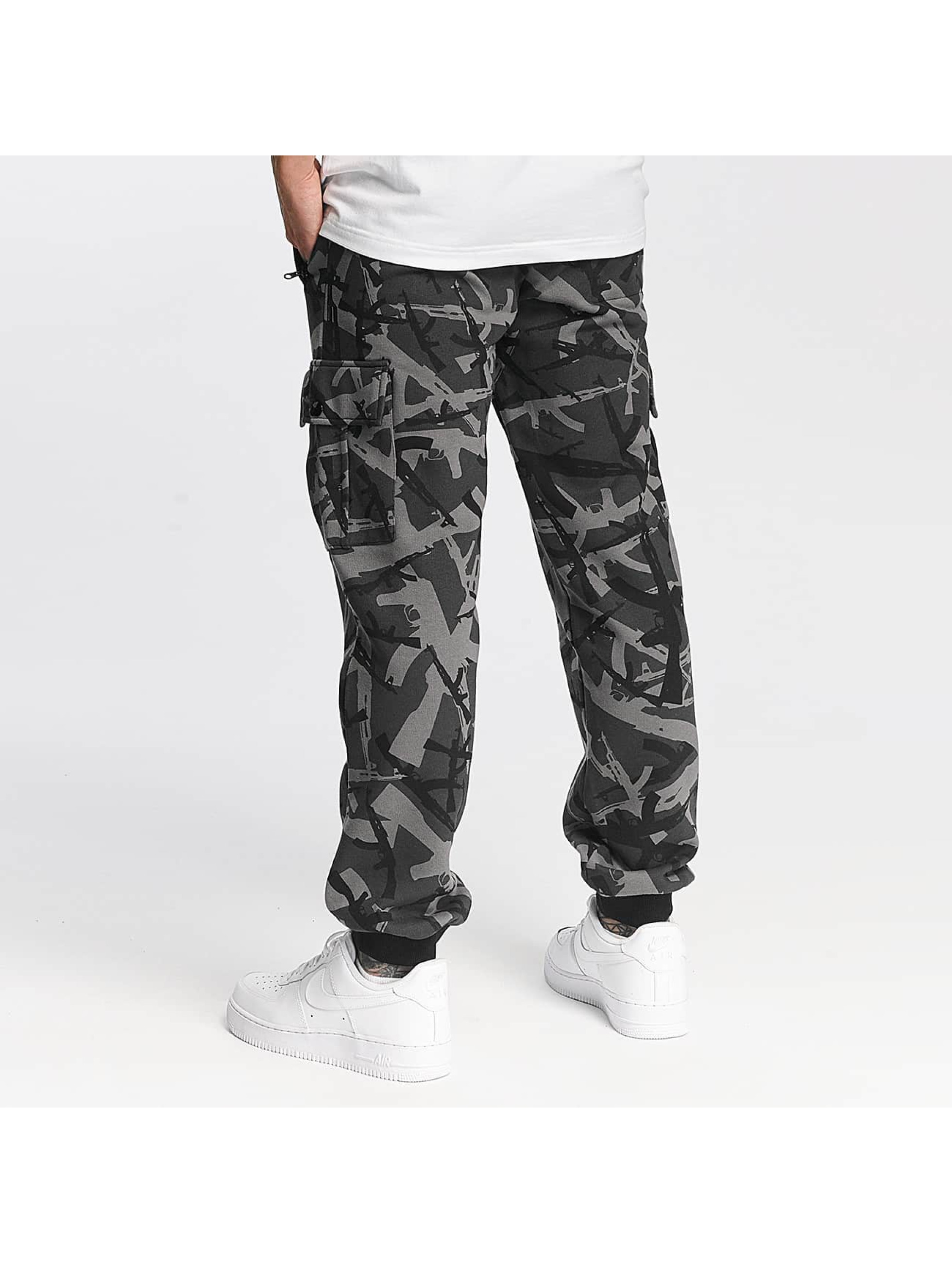 Pusher Apparel Spodnie do joggingu AK Camo moro