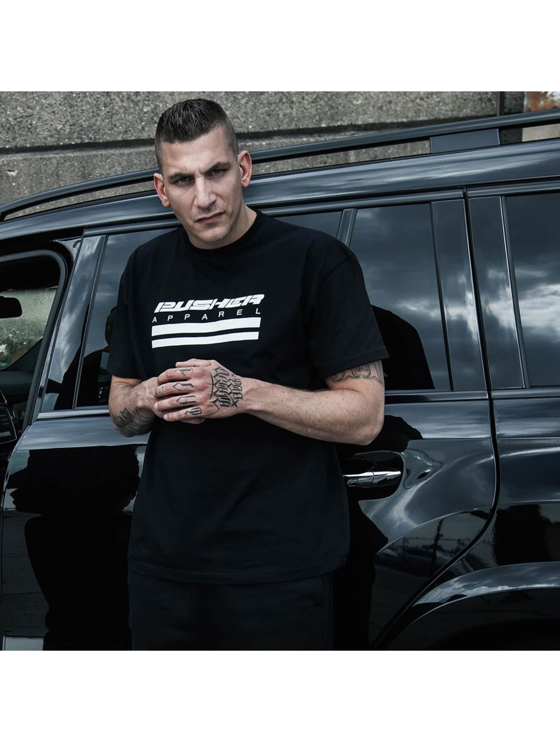 Pusher Apparel T-Shirt Apparel 503 Theft black