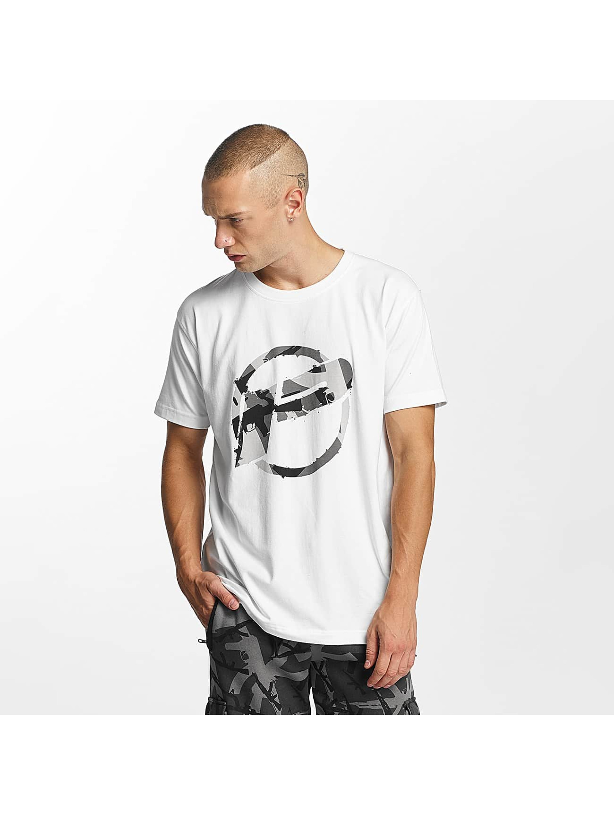 Pusher Apparel T-Shirt Destroyed blanc
