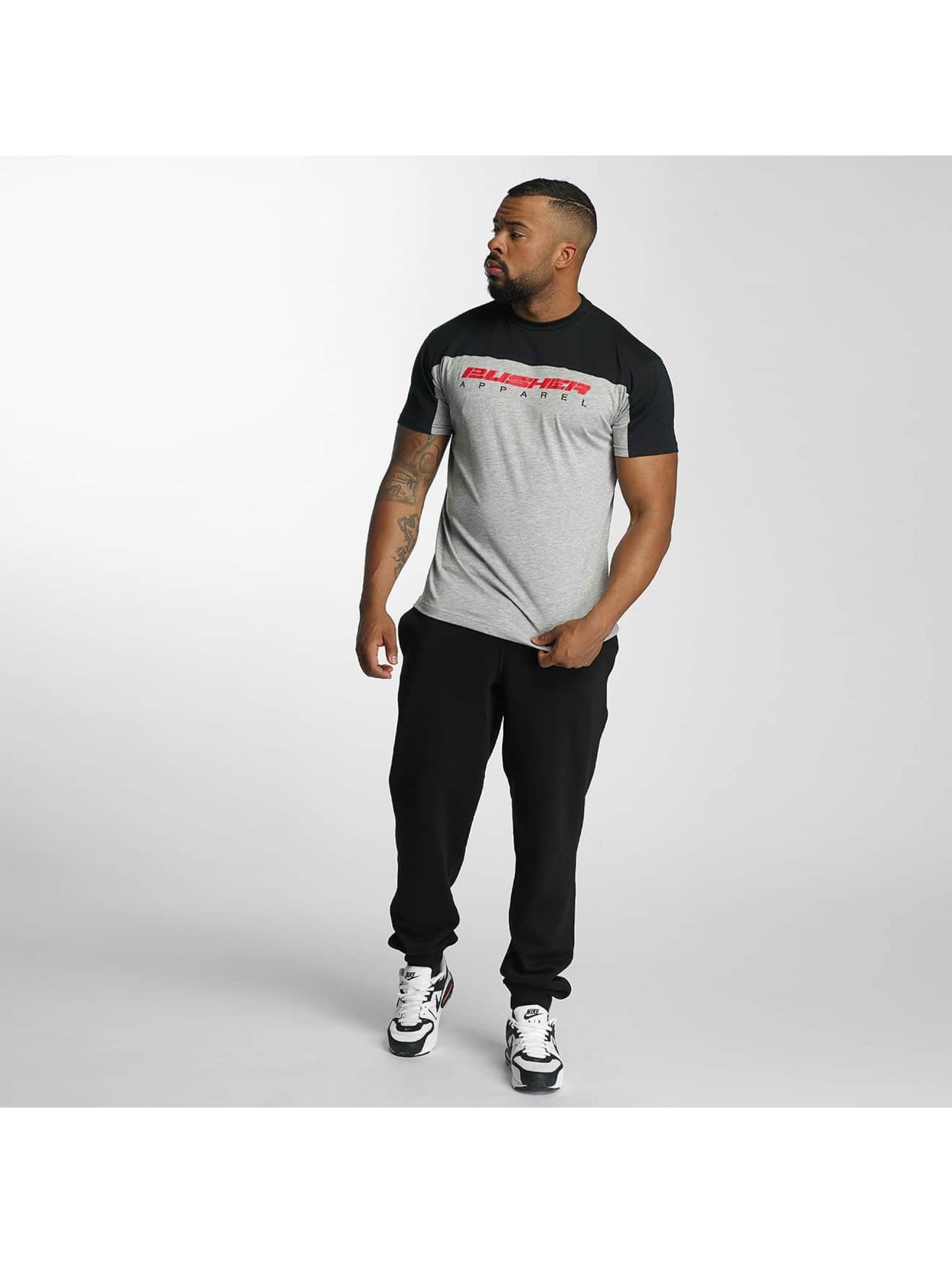 Pusher Apparel T-Shirt 137 Riot gris
