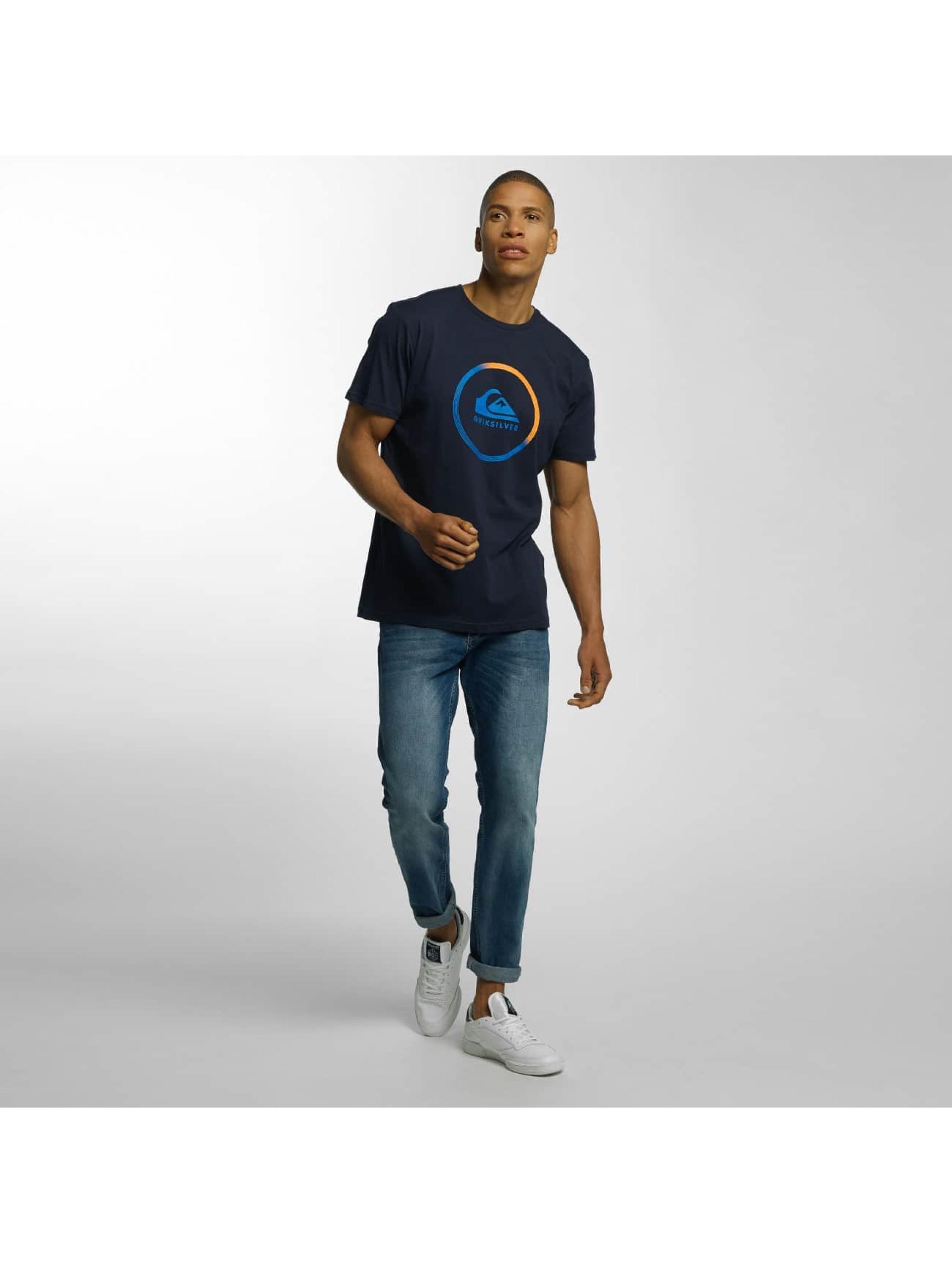 Quiksilver Футболка Classic Active Logo синий