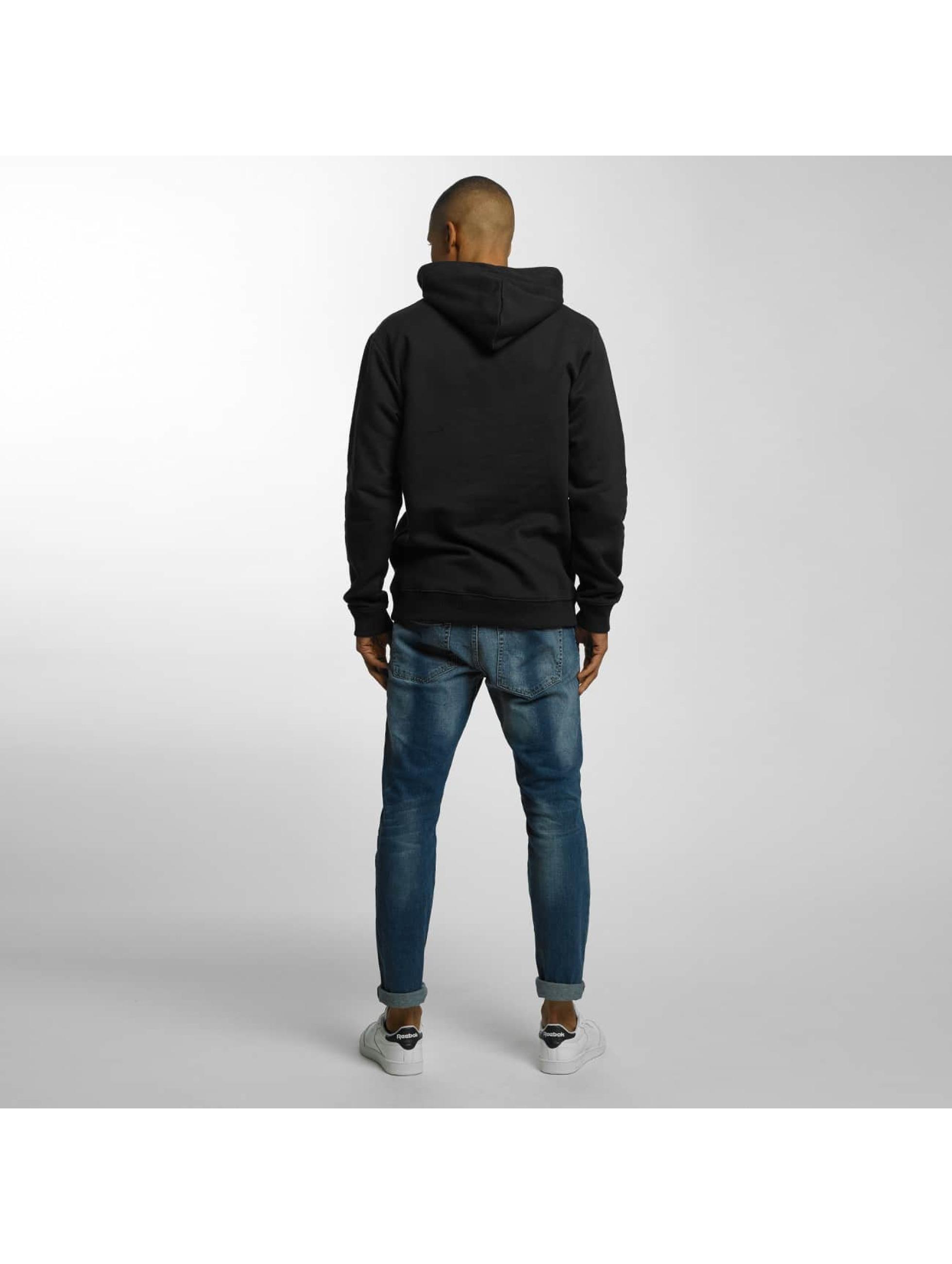 Quiksilver Bluzy z kapturem Big Logo czarny