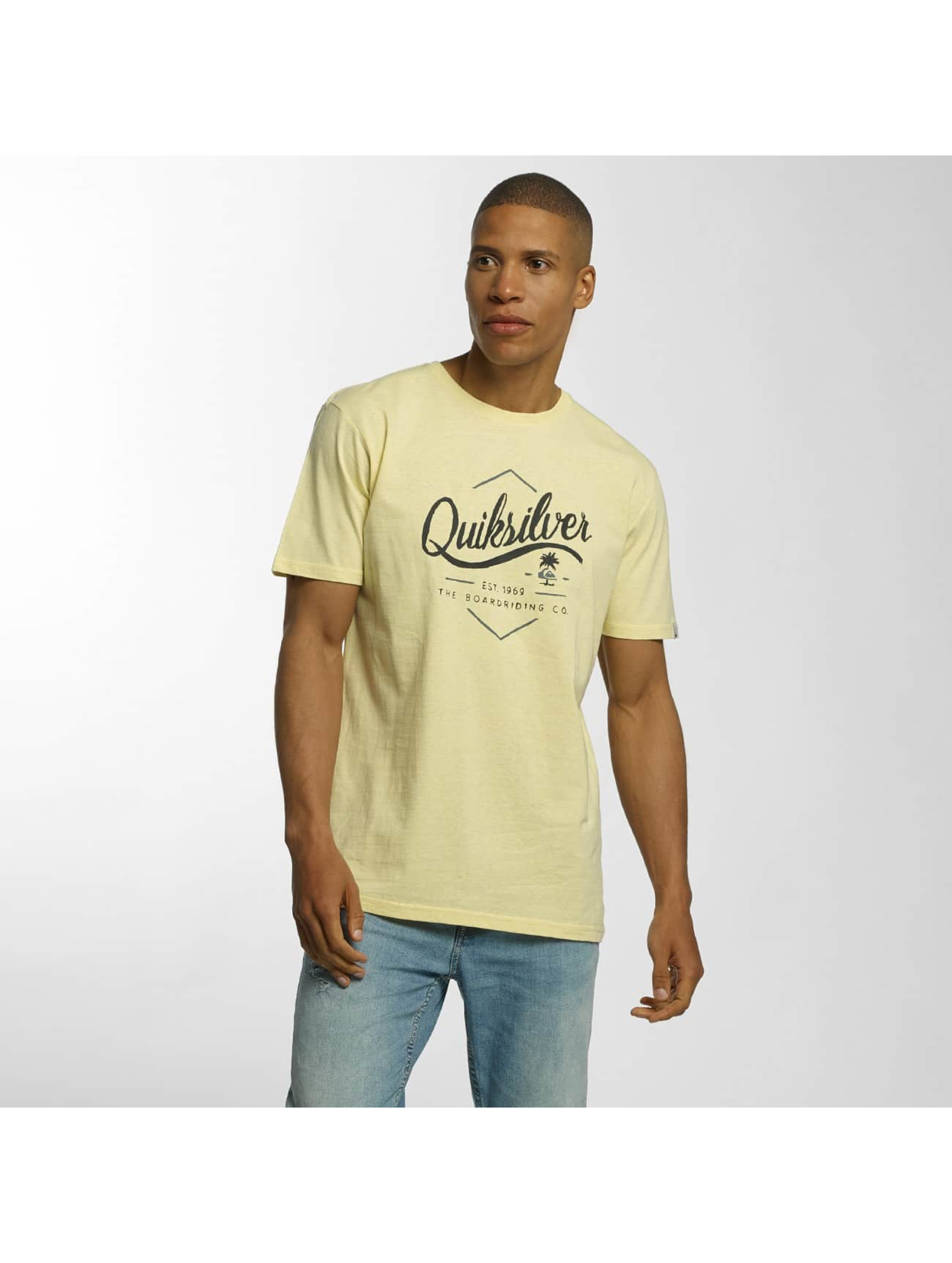 Quiksilver Camiseta Classic Sea Tales amarillo