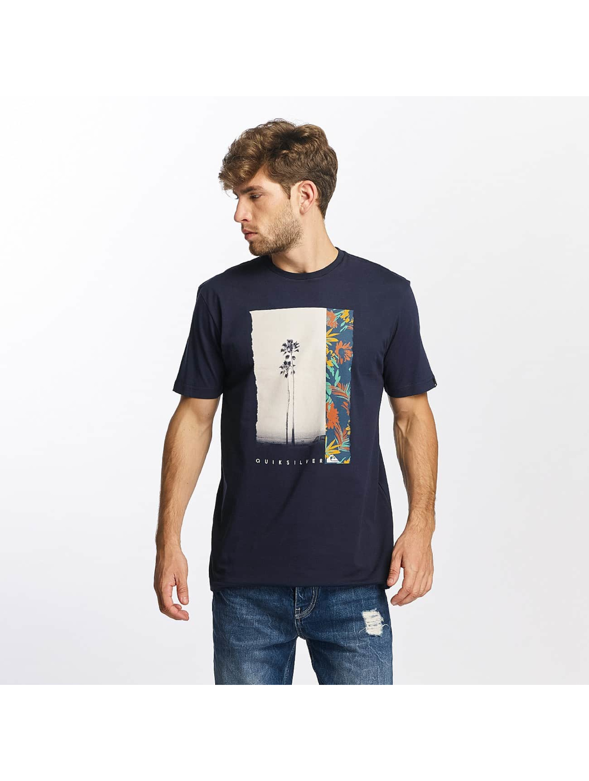 Quiksilver Camiseta Classic Meridian azul