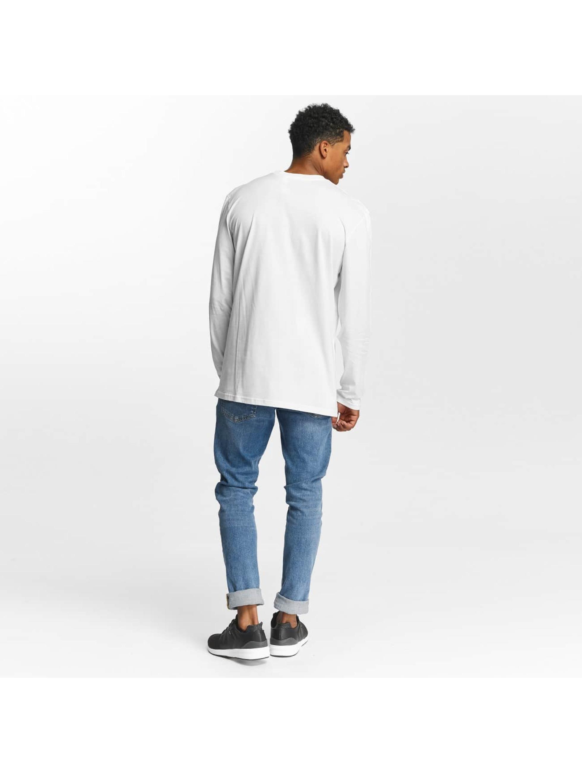 Quiksilver Camiseta de manga larga Classic Mad Wave blanco