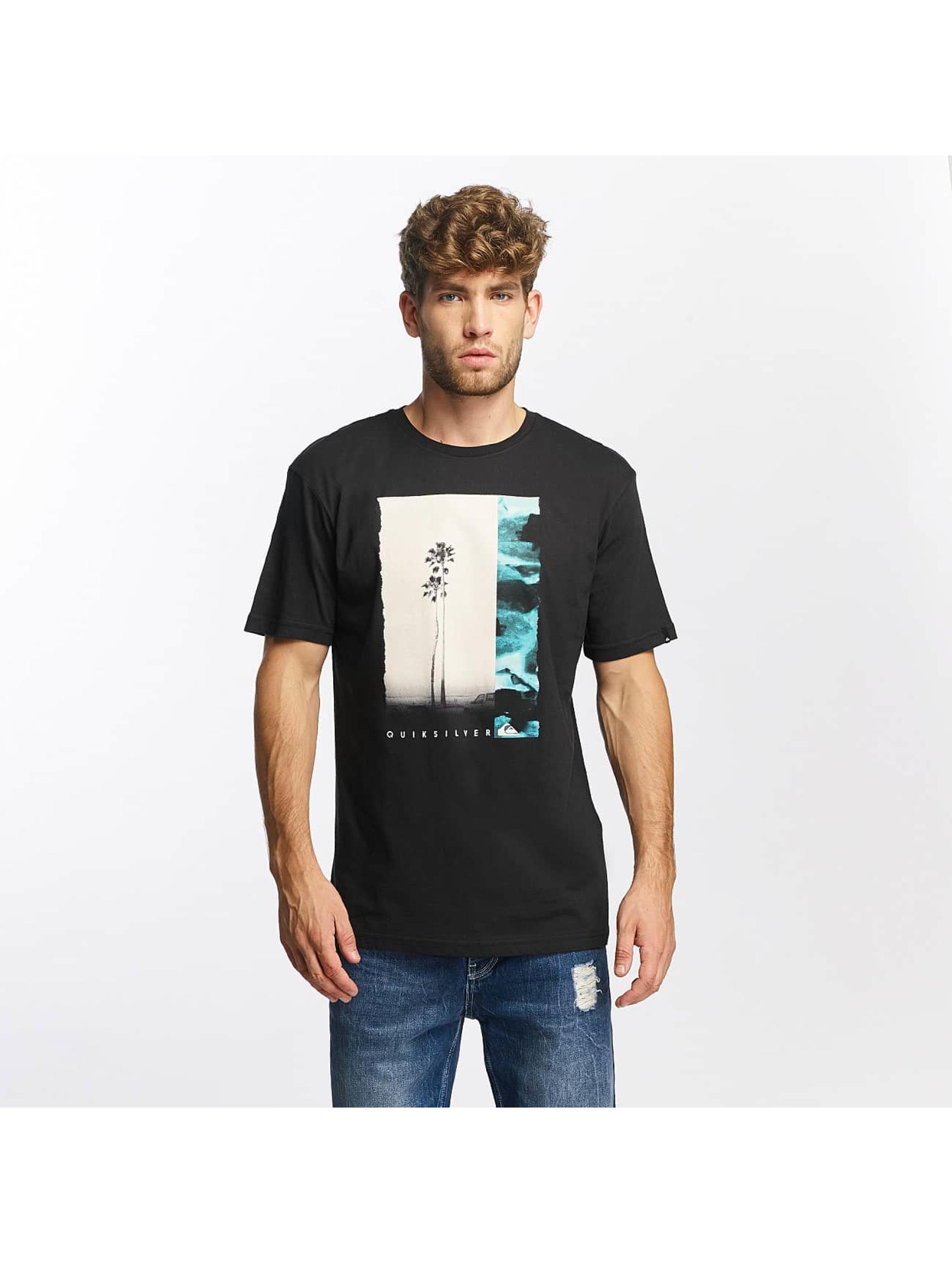 Quiksilver Camiseta Classic Meridian negro
