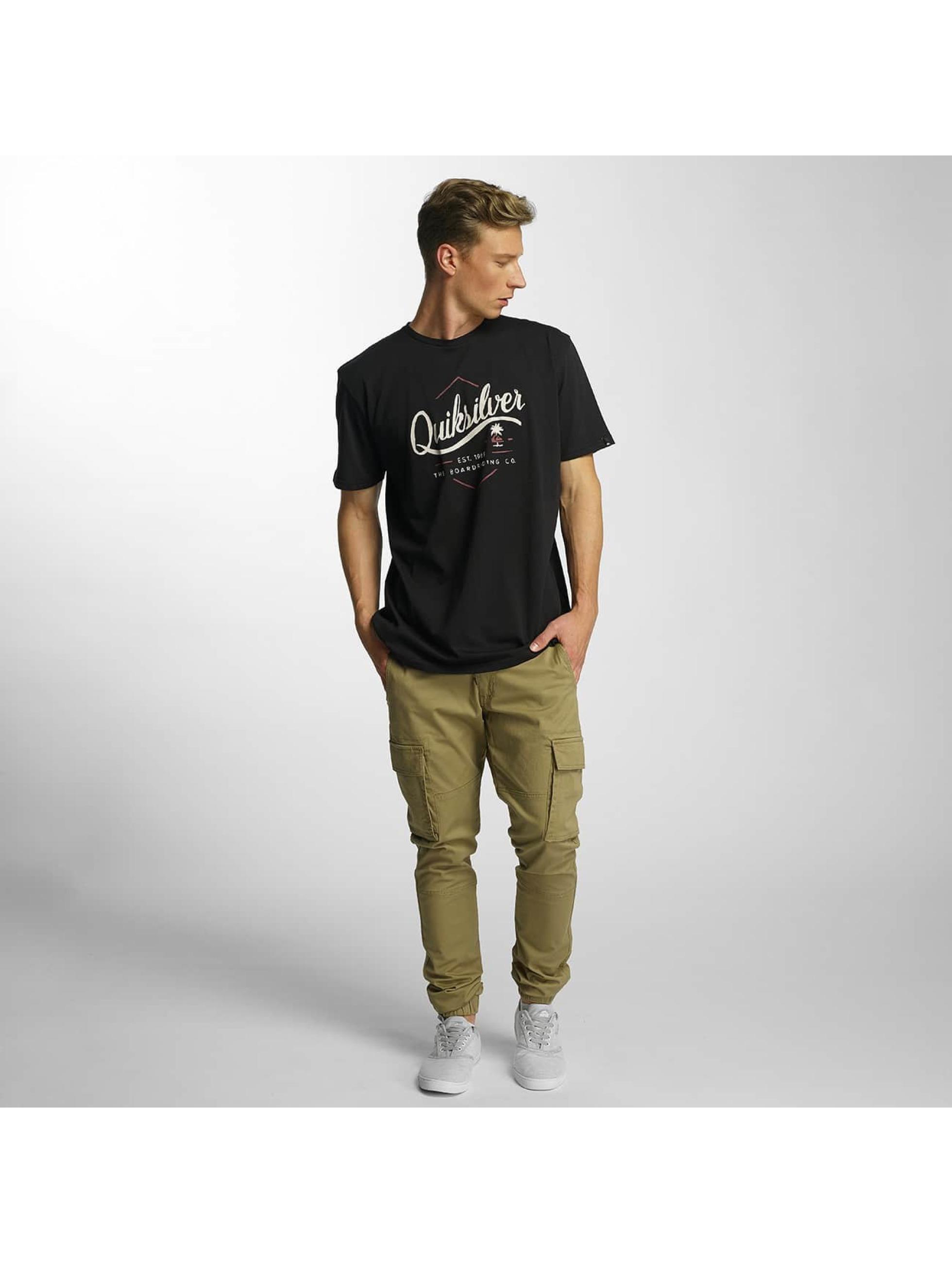 Quiksilver Camiseta Classic Sea Tales negro