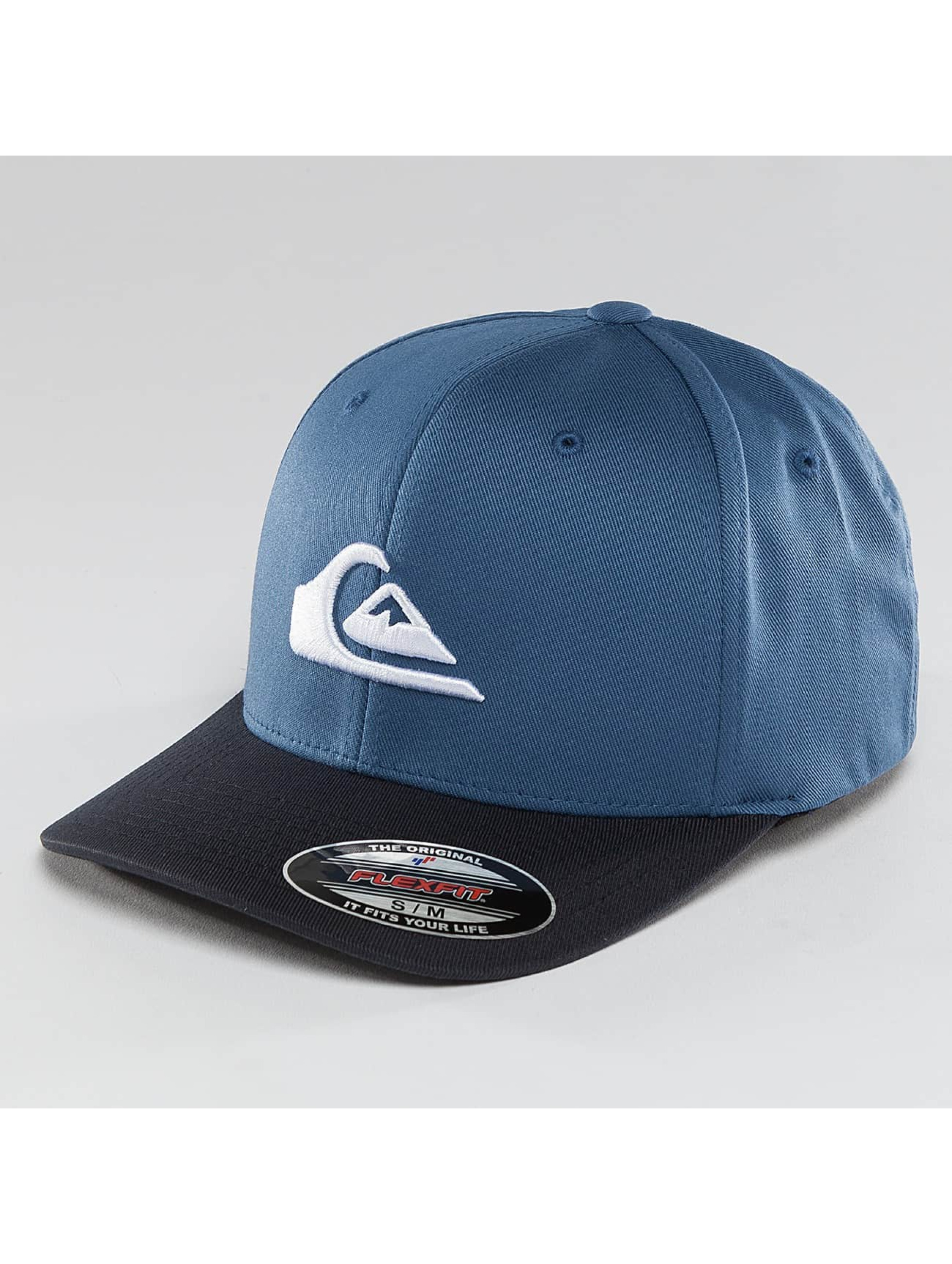 Quiksilver Casquette Fitted Mountain And Wave bleu