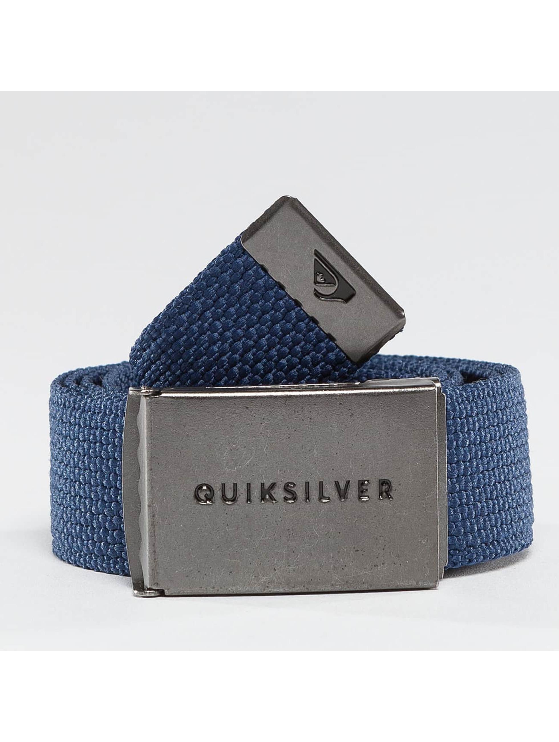 Quiksilver Cinturón Principle III azul