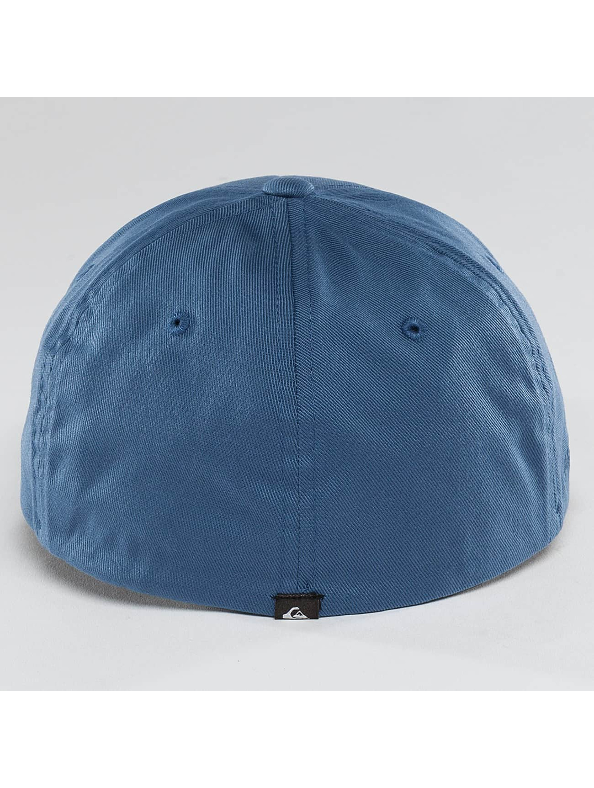 Quiksilver Fitted Cap Mountain And Wave blå