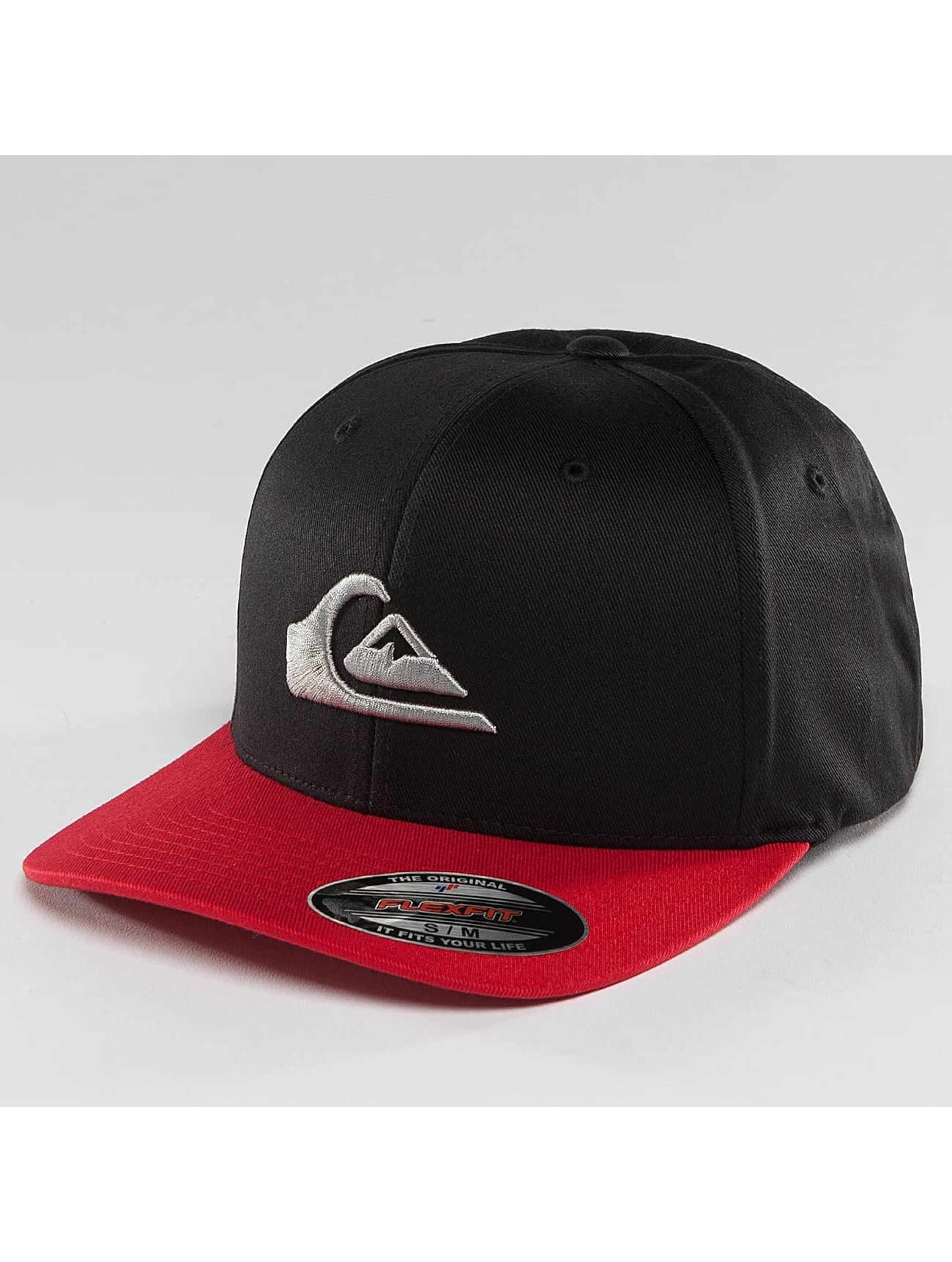 Quiksilver Fitted Cap Mountain And Wave nero