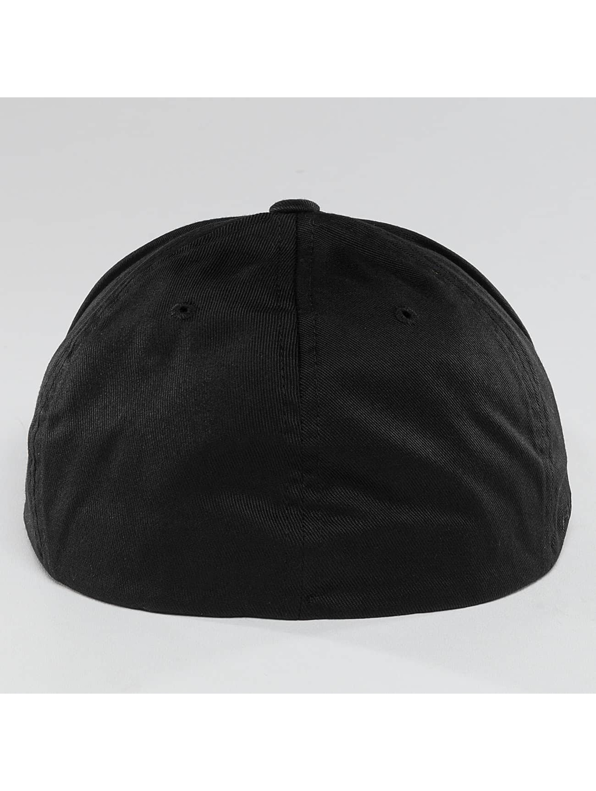 Quiksilver Fitted Cap Stuckles nero